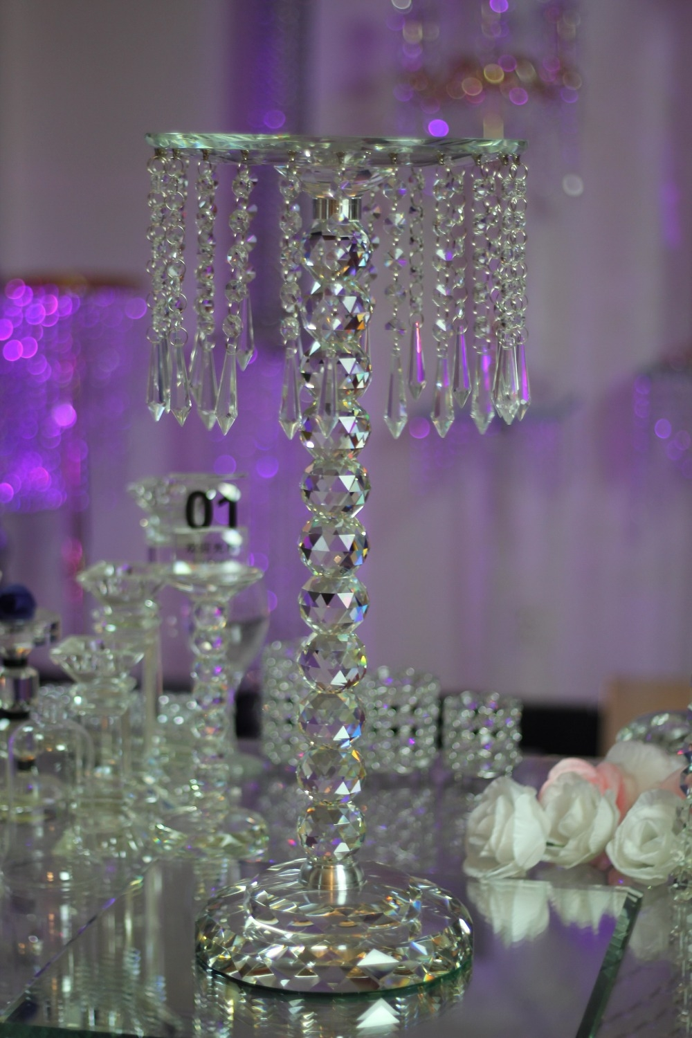 15 Photos Crystal Table Chandeliers Chandelier Ideas