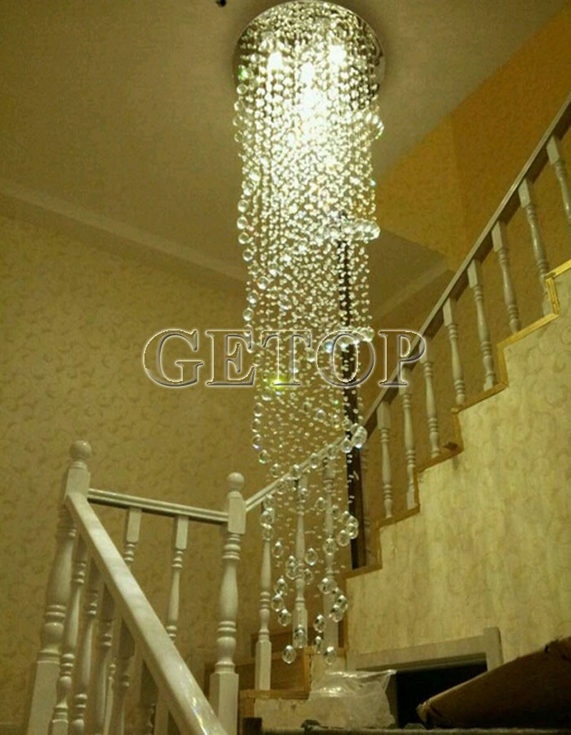 Aliexpress Buy Z Modern K9 Crystal Gu10 Led Mirror Stainless Within Mirror Chandelier (View 3 of 15)