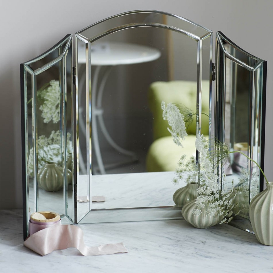 Alina Dressing Table Mirror Mirrors Graham And Green With Free Standing Dressing Table Mirrors (Image 1 of 15)