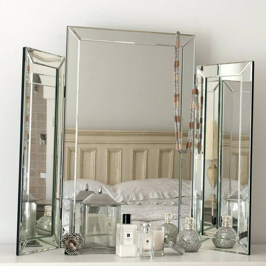All Glass Dressing Table Mirrorvenetian Mirror Venetian Mirrors Uk For Venetian Mirror Cheap (Image 2 of 15)