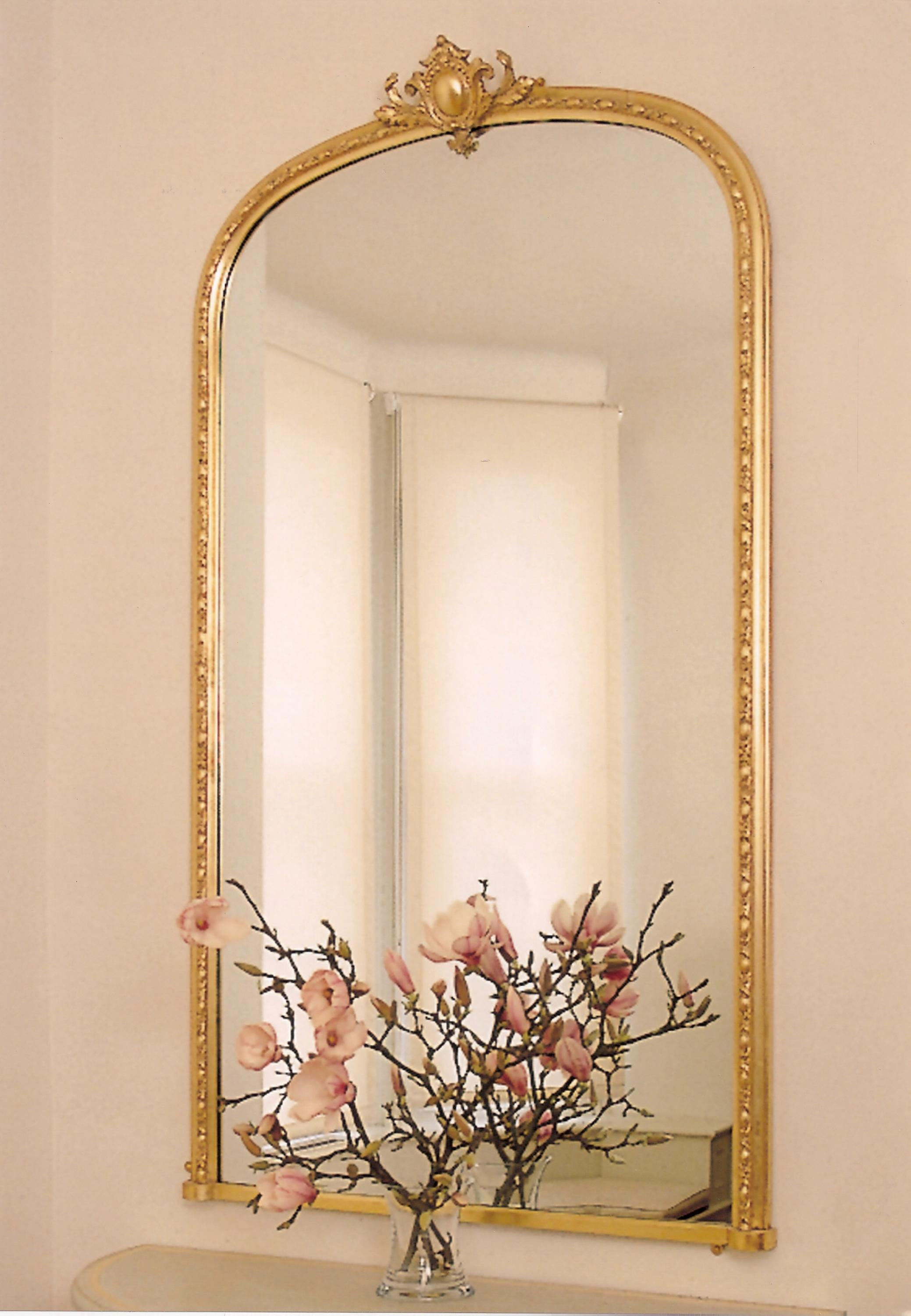All Mirrors Overmantels In Reproduction Mirrors (View 7 of 15)