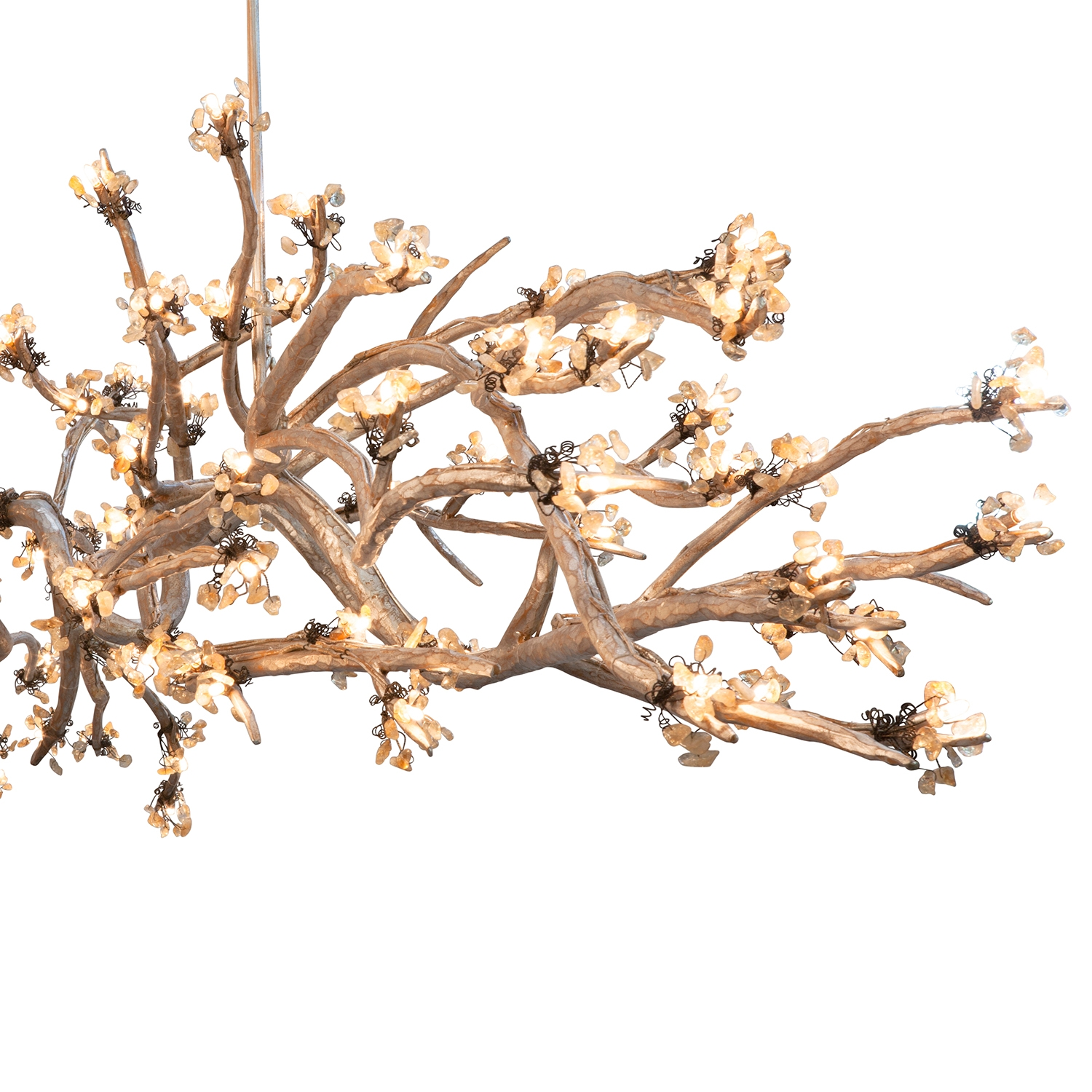 Allan Knightlighting Chandeliers Brandolini Branch Chandelier With Branch Chandeliers (Image 2 of 15)