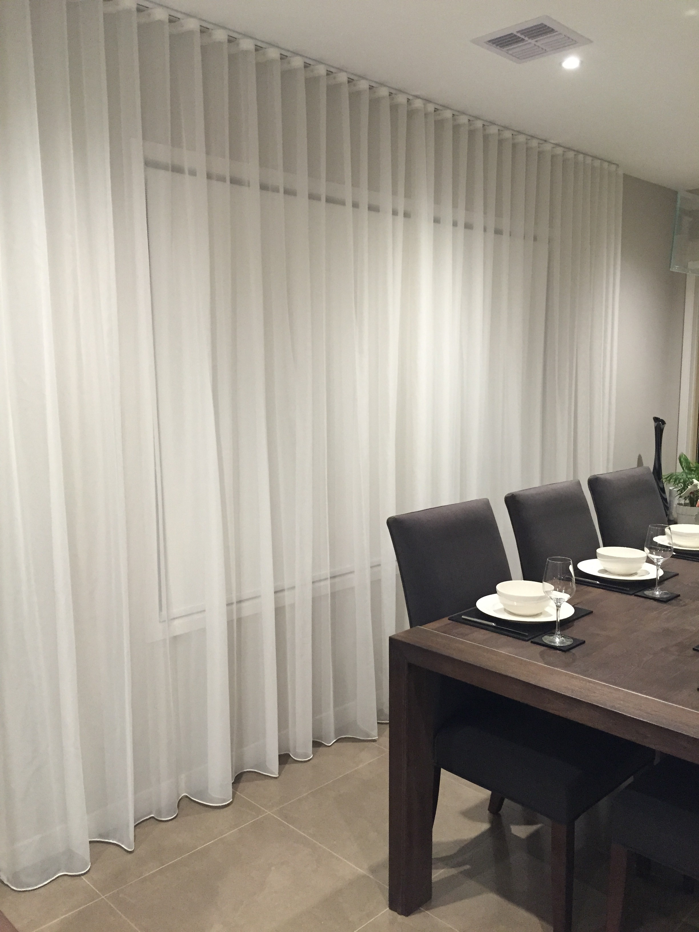Amanda Rogers Roller Blinds Blockout In Vibe Cloud Sheer Intended For Sheer Roller Blind (Image 3 of 15)