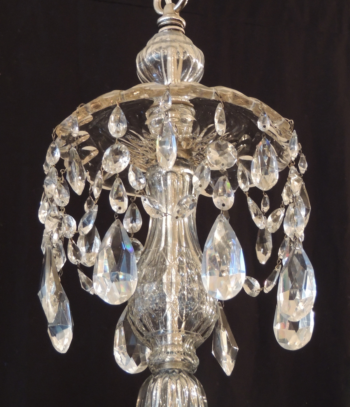 Amazing Of Bedroom Crystal Chandelier Elegant Crystal Chandelier For Lead Crystal Chandeliers (Image 3 of 15)