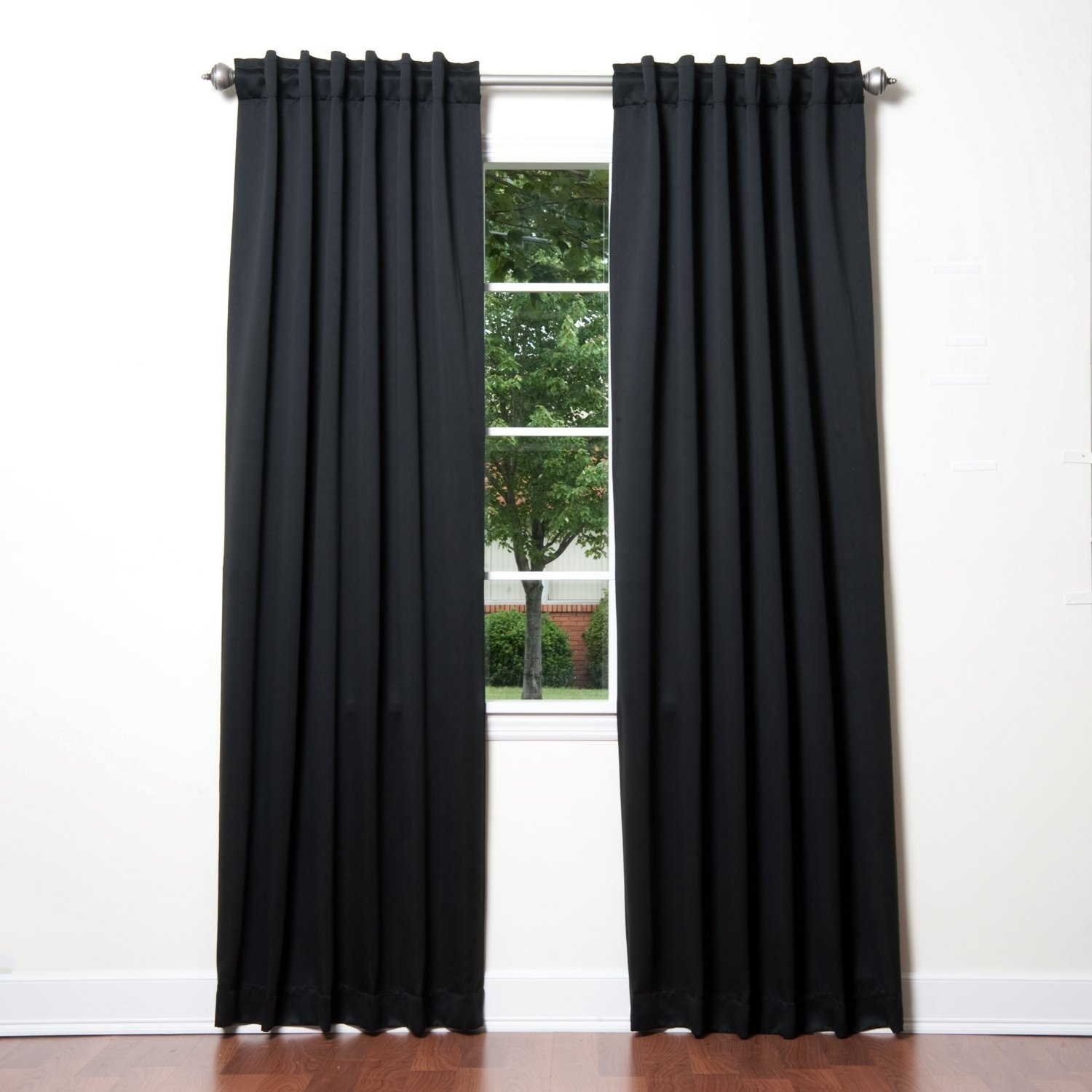 Amazon Best Home Fashion Thermal Insulated Blackout Curtains In Noise And Light Blocking Curtains (Image 2 of 15)