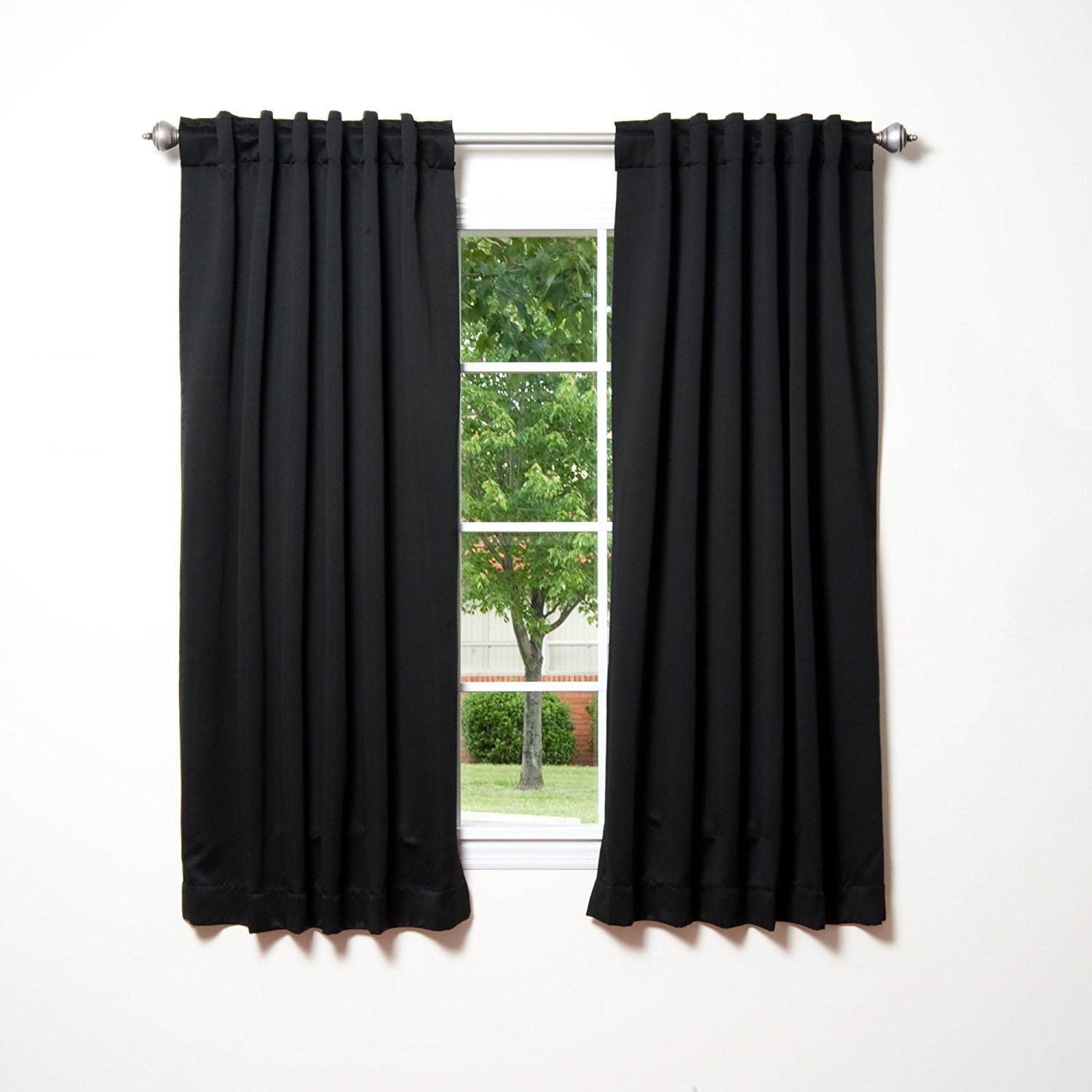 Amazon Best Home Fashion Thermal Insulated Blackout Curtains With Thermal And Blackout Curtains (Image 2 of 15)