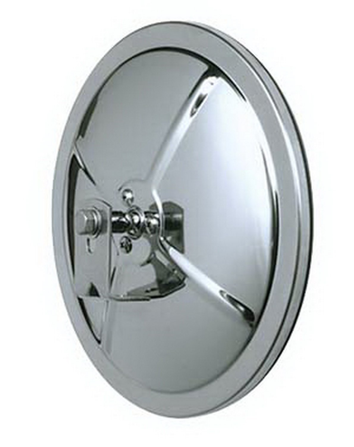 Amazon Cipa 48852 Stainless Round Convex Mirror Automotive Inside Round Convex Mirrors (Image 1 of 15)