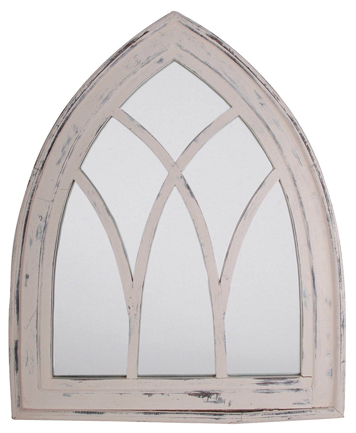 Amazon Esschert Design Usa Wd11 Mirror Gothic Gray Wash Throughout Gothic Style Mirrors (Image 3 of 15)