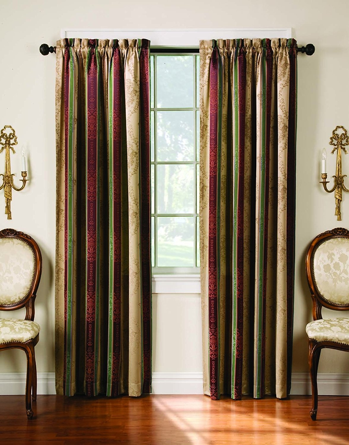 Featured Image of Striped Thermal Curtains