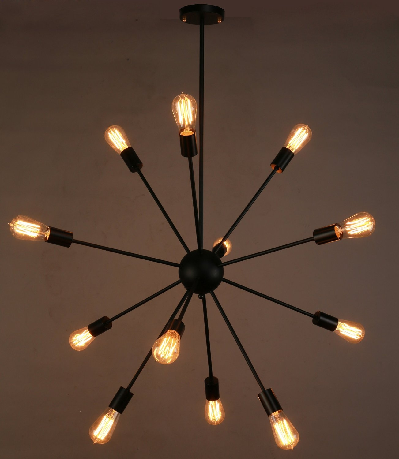 Amazon Vintage E27 Industrial Fixture Retro Pendant Light Inside Retro Chandeliers (Image 2 of 15)