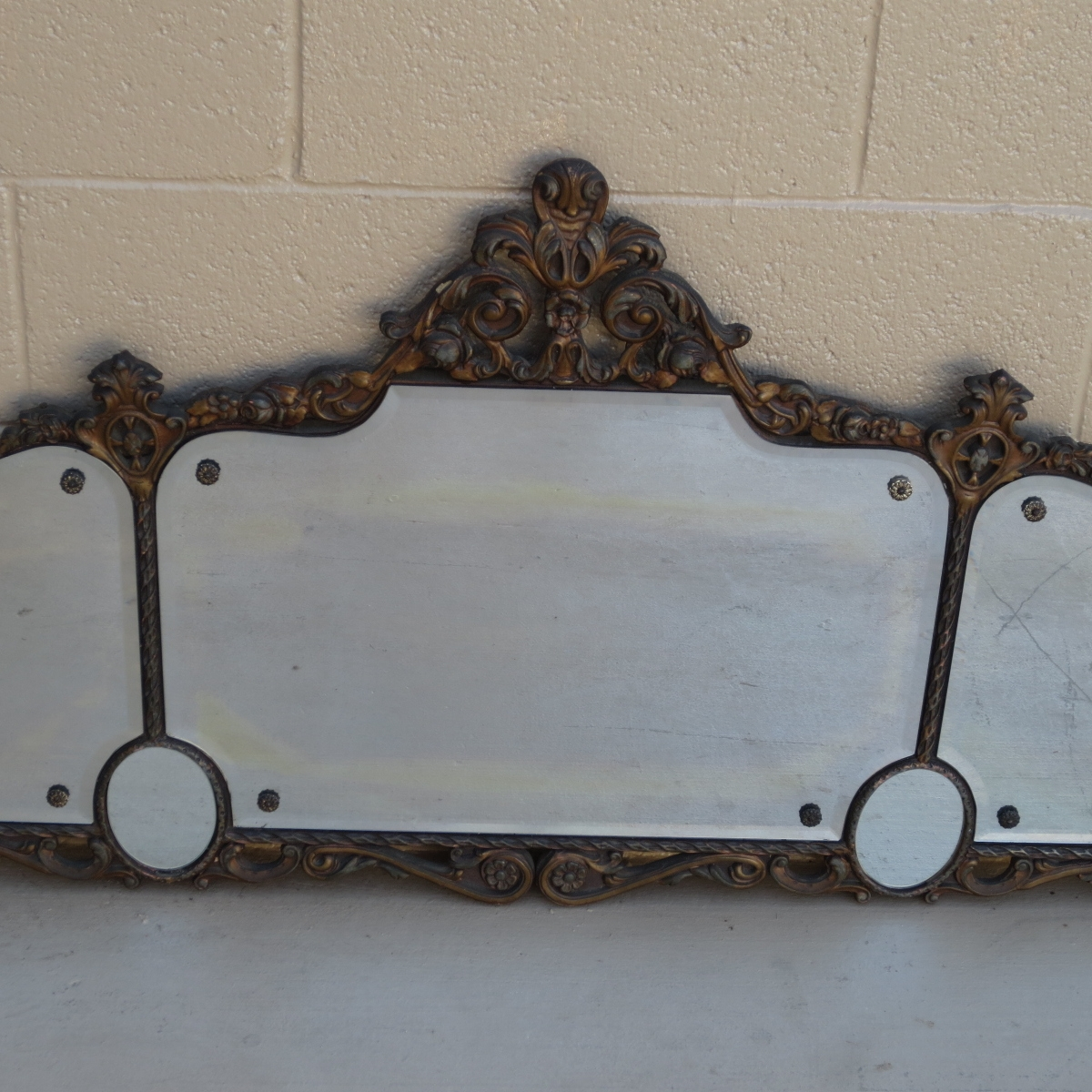 American Antique Mirror Antique Wall Mirror Pertaining To Antique Wall Mirrors (Image 1 of 15)