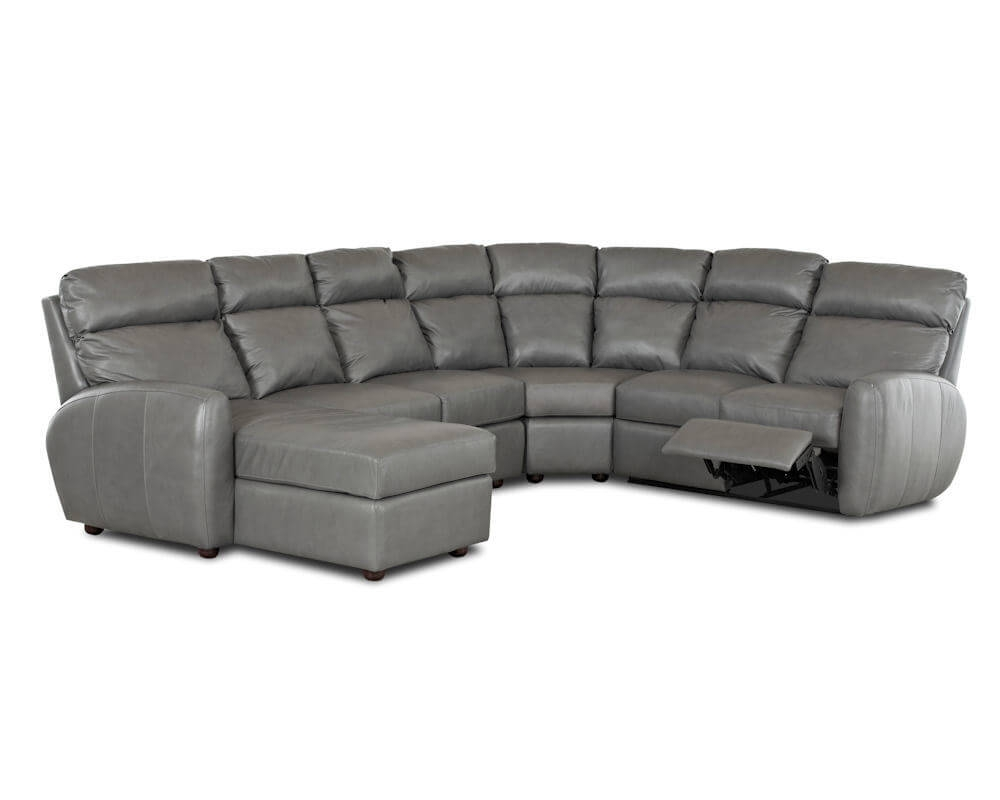 American Made Best Reclining Leather Sectional Ventana Clp114 With Regard To American Made Sectional Sofas (Image 2 of 15)
