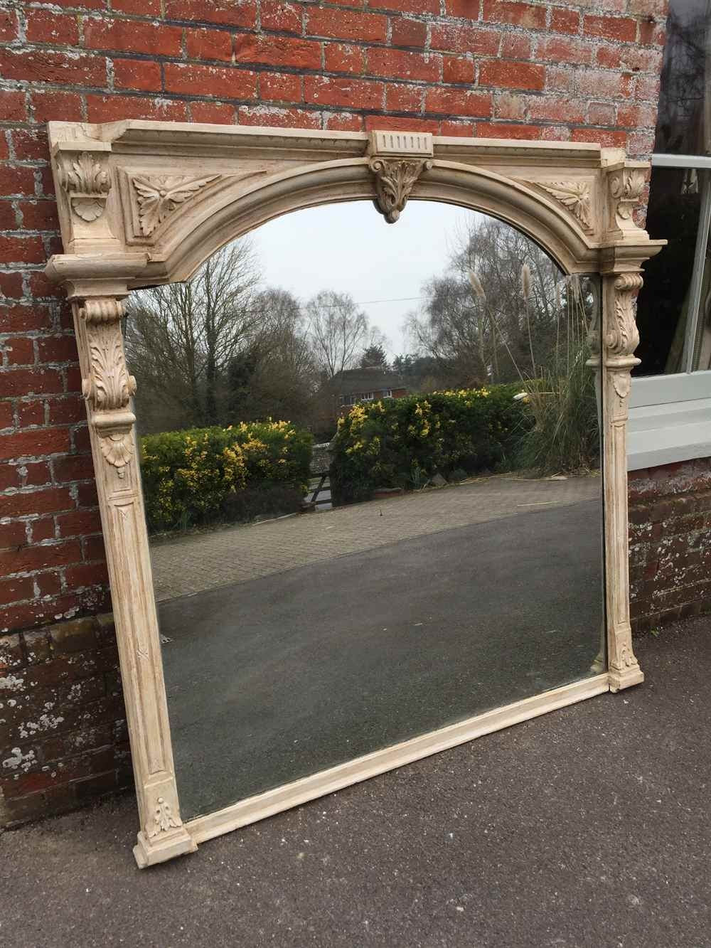 An Absolutely Stunning Very Large Antique 19th Century English Throughout Very Large Mirrors (Image 6 of 15)
