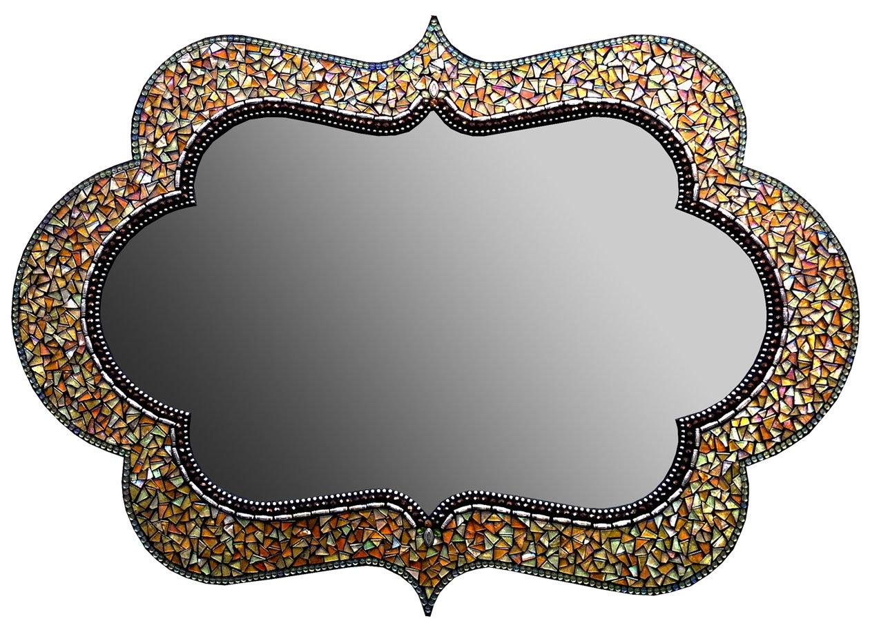 Angie Heinrich Zetamari Mosaic Artworks Artist Profile Artful Home Pertaining To Bronze Mosaic Mirror (Image 3 of 15)