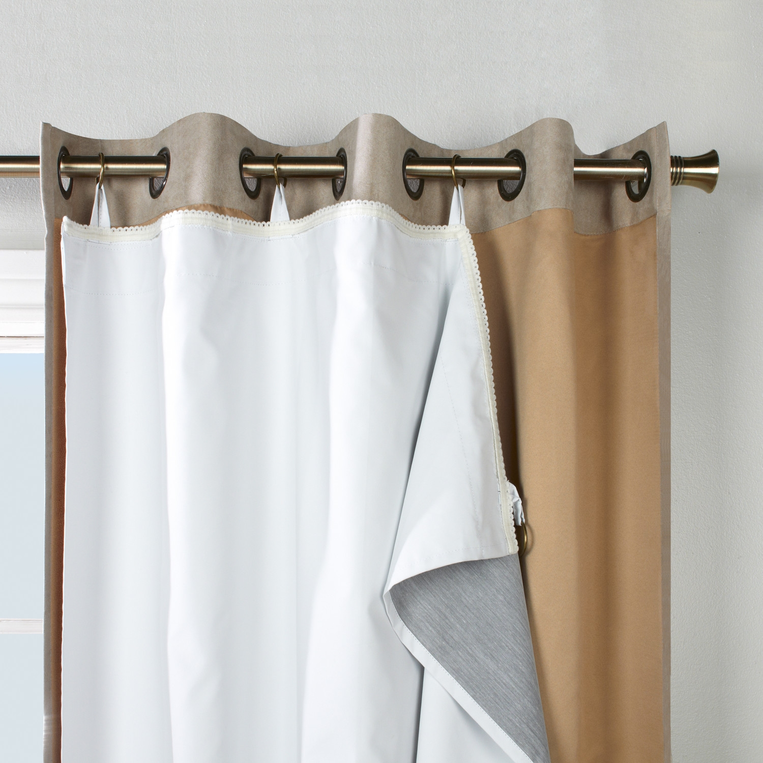 Featured Image of Thermal Lined Blackout Curtains