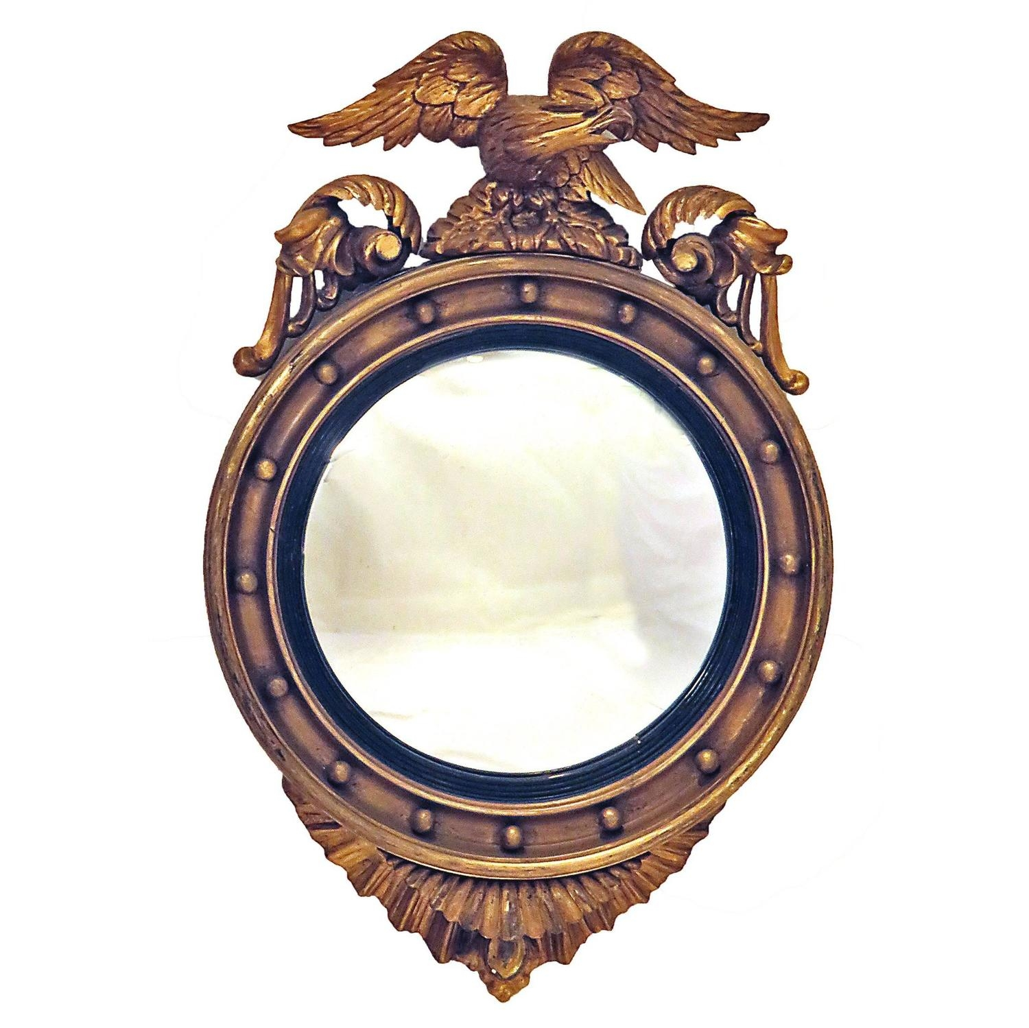 Antique And Vintage Convex Mirrors 361 For Sale At 1stdibs Intended For Antique Convex Mirrors For Sale (Image 2 of 15)