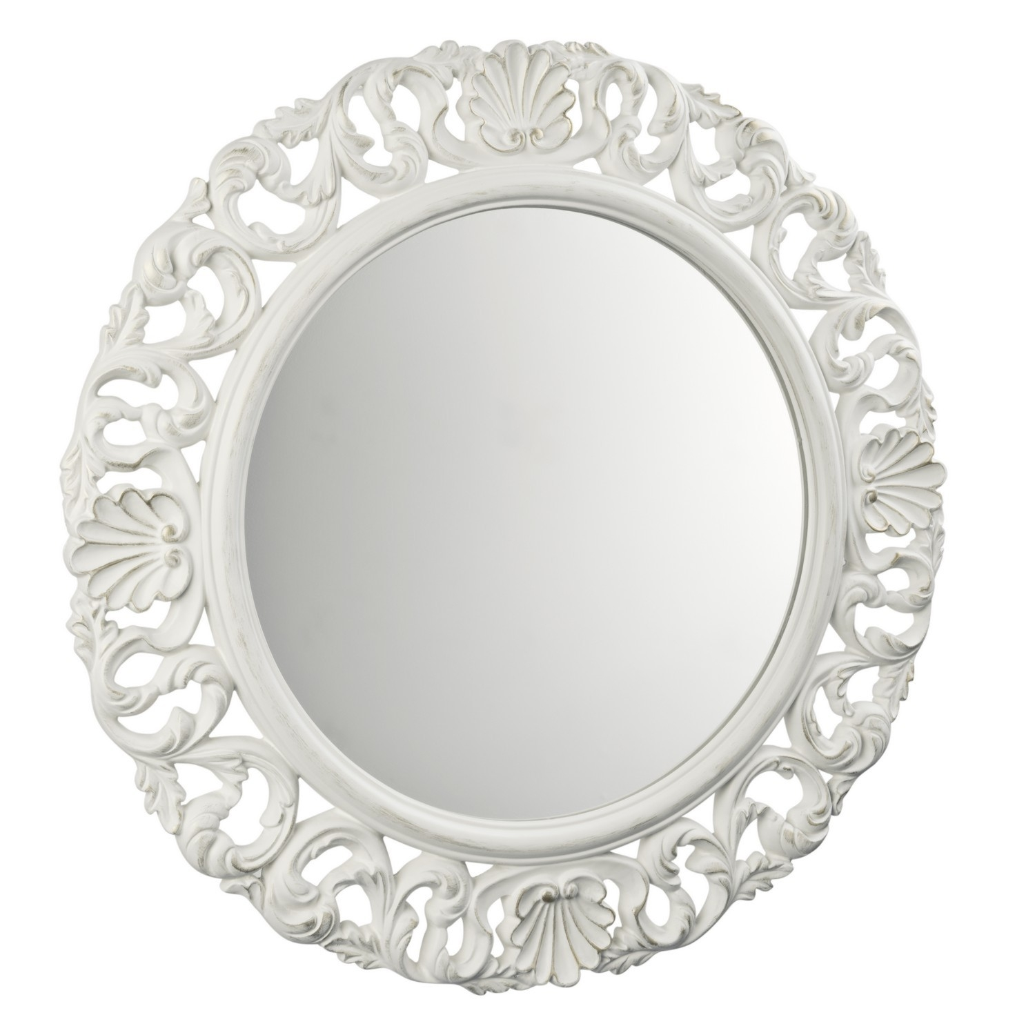 Antique Baroque Mirror White Bathroom Pinterest Baroque In Baroque Mirror White (Image 2 of 15)