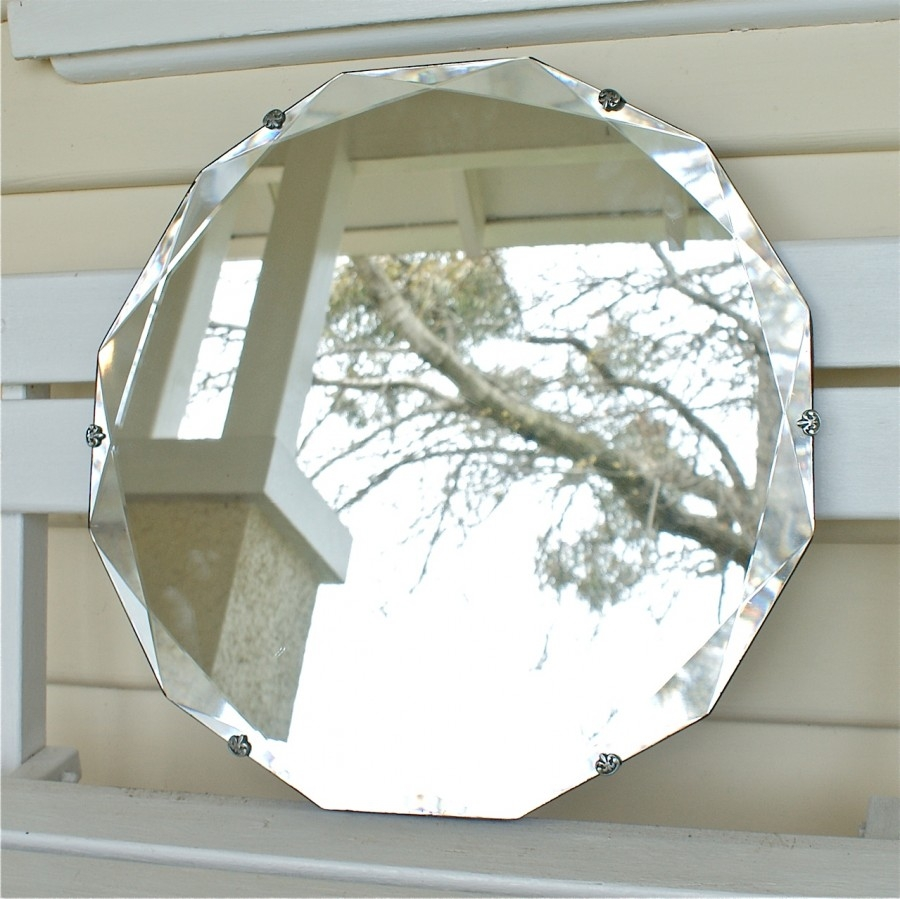 Featured Image of Vintage Bevelled Edge Mirror