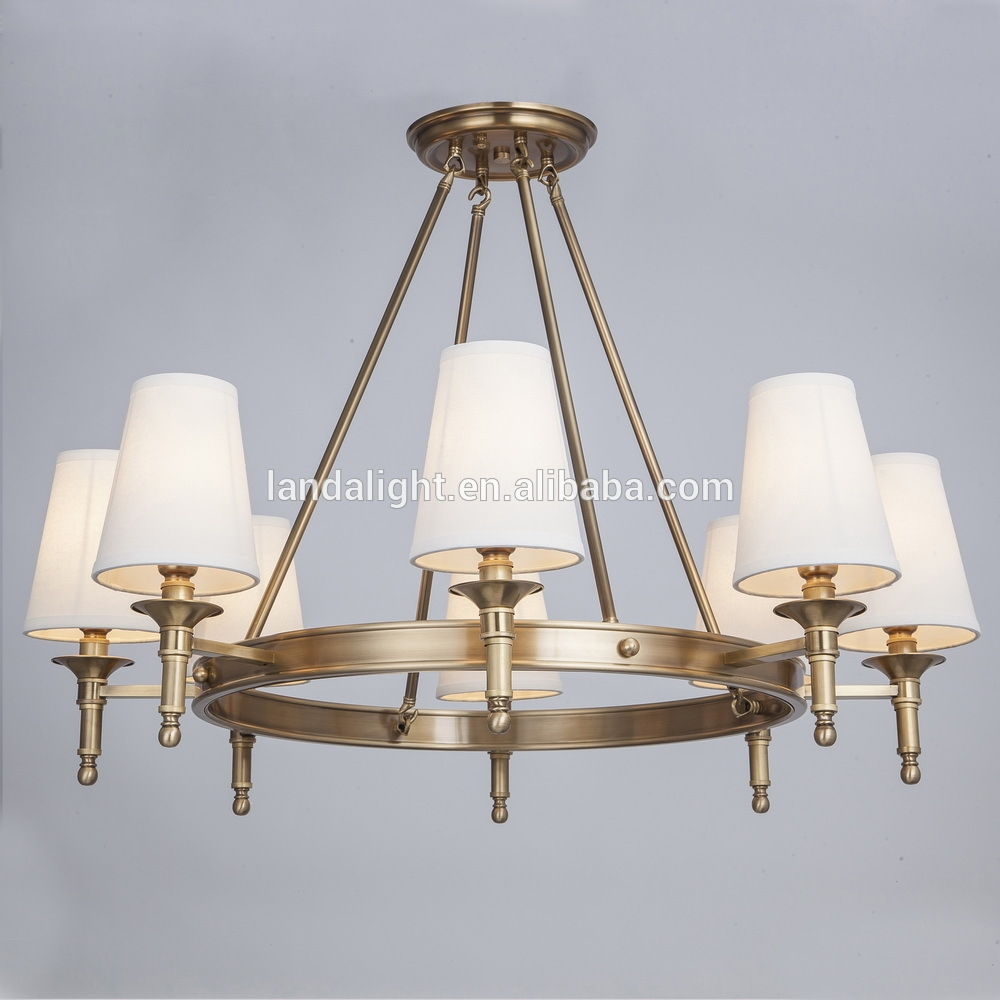 Antique Brass Copper Chandelier Antique Brass Copper Chandelier Intended For Copper Chandelier (Image 1 of 15)