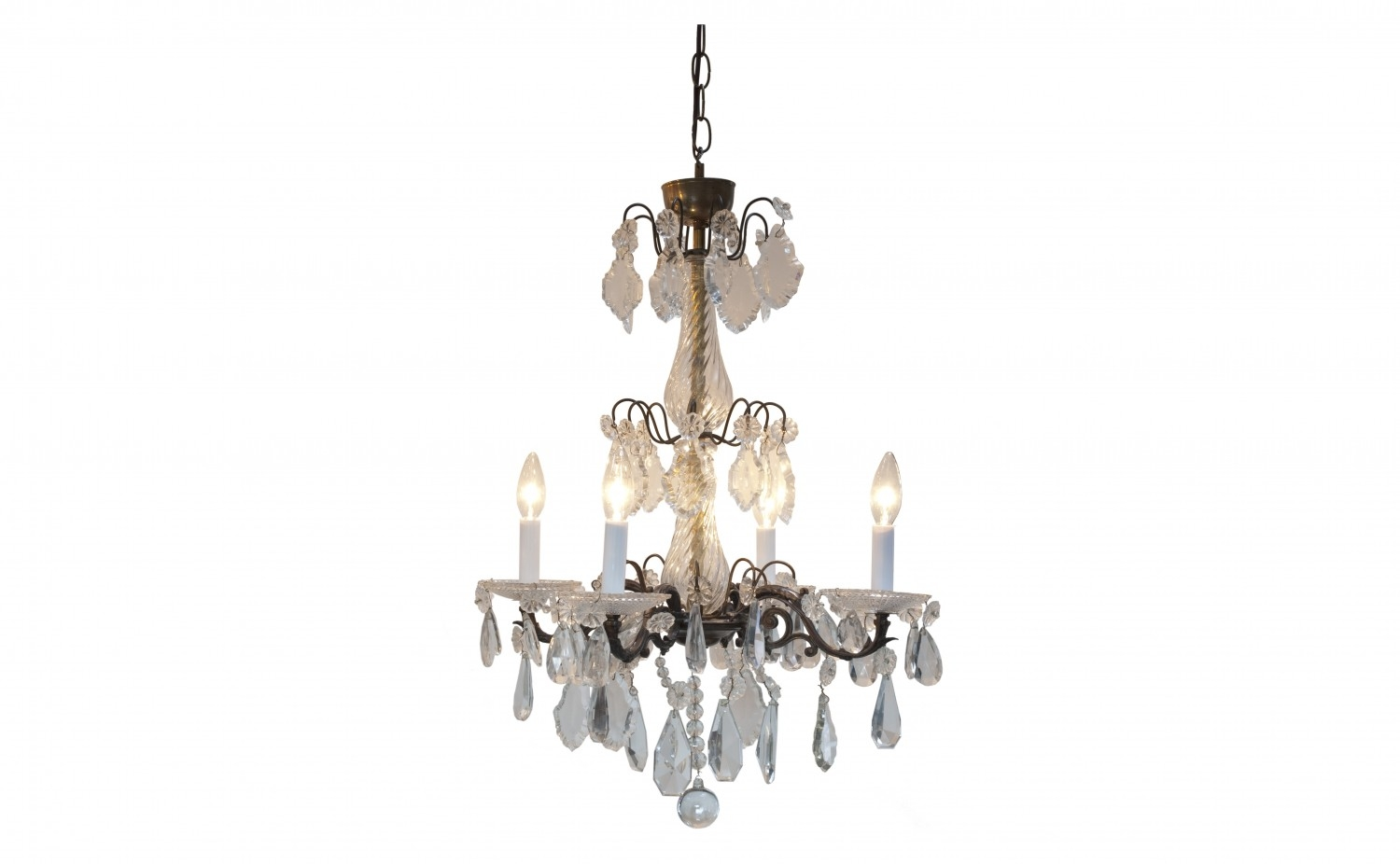 Antique Chandelier Jayson Home For Antique Chandeliers (Image 3 of 15)