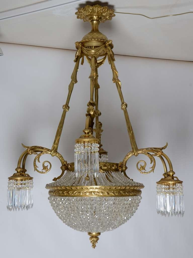 Antique Chandelier Vintage On Designing Home Inspiration With Within Vintage French Chandeliers (Image 3 of 15)