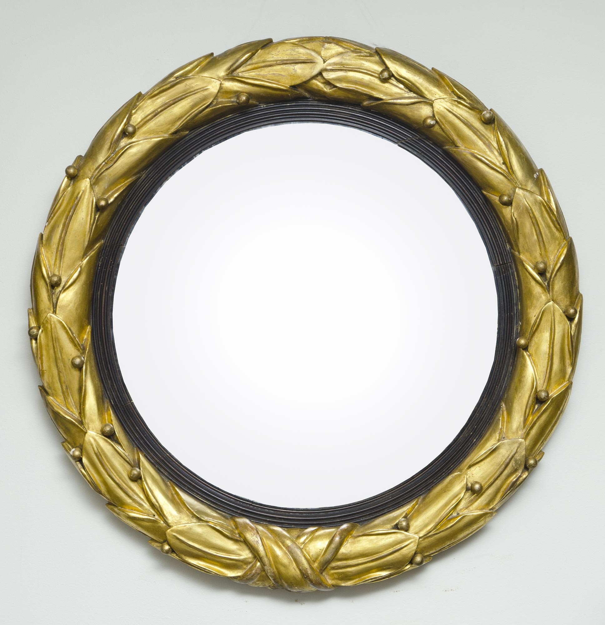 Antique Convex Mirrors 1700s 1800s Convex Mirrors Throughout Antique Convex Mirrors For Sale (Image 4 of 15)