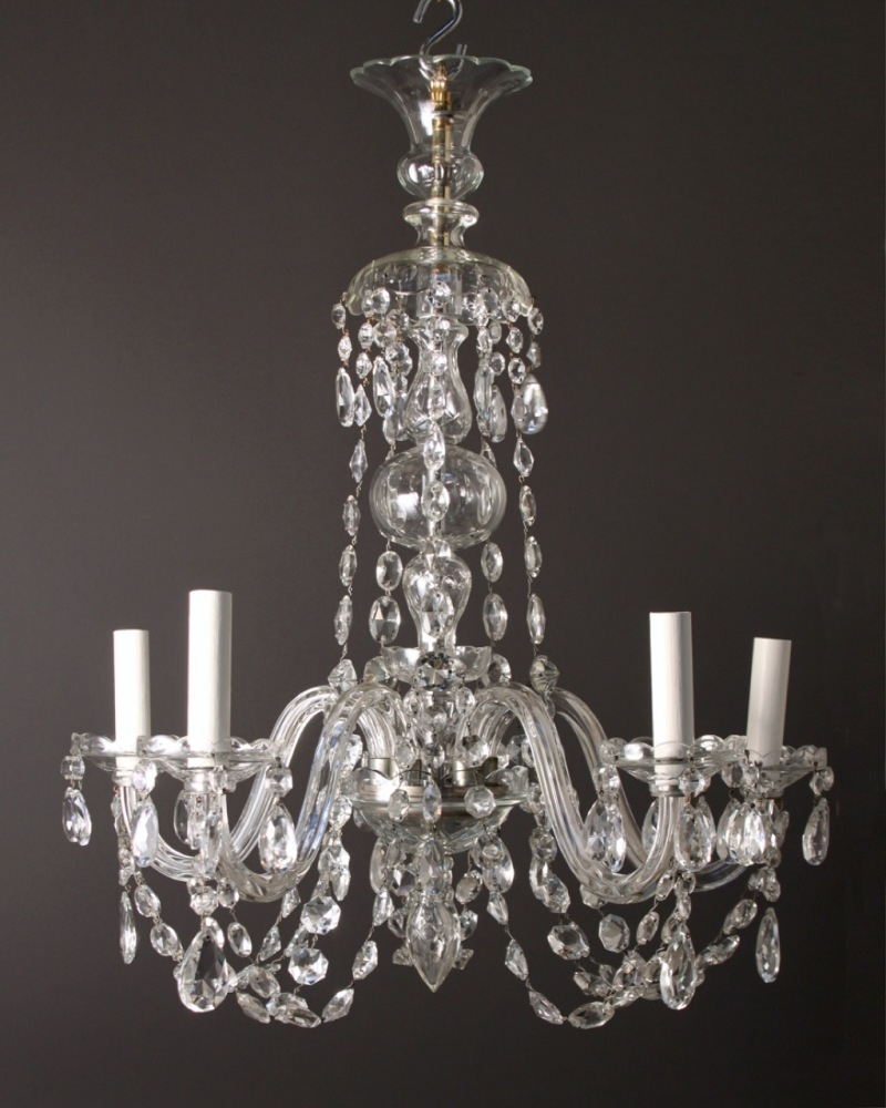 Antique Crystal Chandelier Vintage On Designing Home Inspiration Inside Chandeliers Vintage (Image 3 of 15)