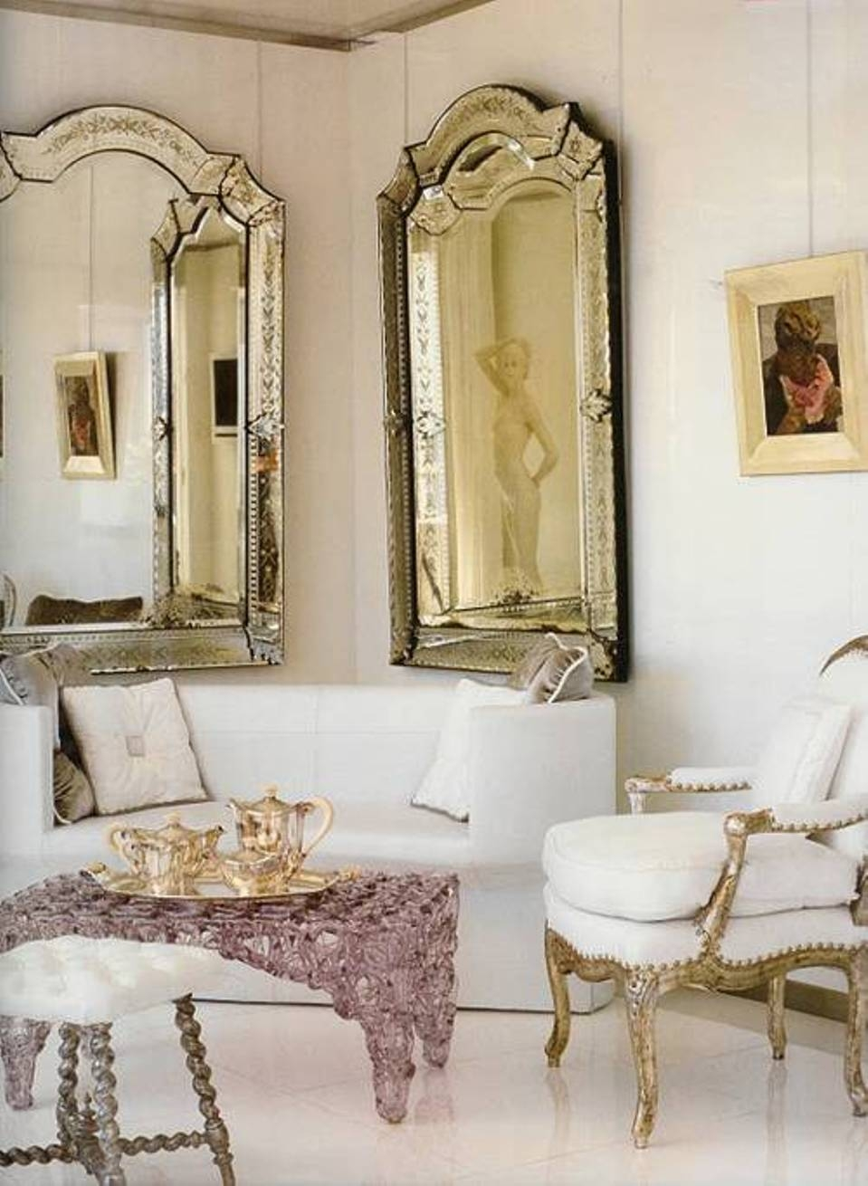 Antique Decorative Wall Mirrors Imposing Design Antique Wall For Long Decorative Mirror (Image 1 of 15)