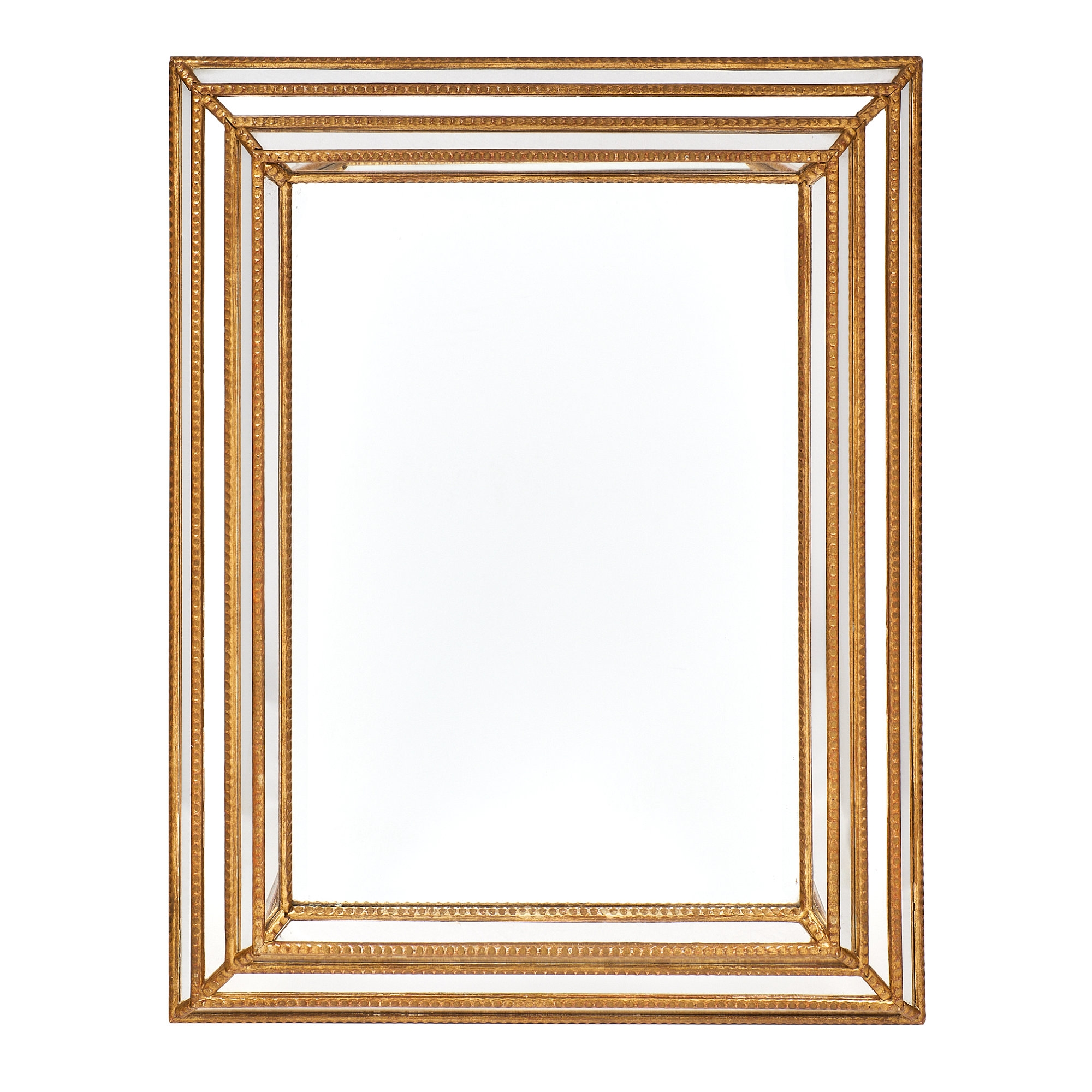 Antique French Louis Xvi Style Pareclose Mirror Jean Marc Fray Within Vintage French Mirror (Image 4 of 15)