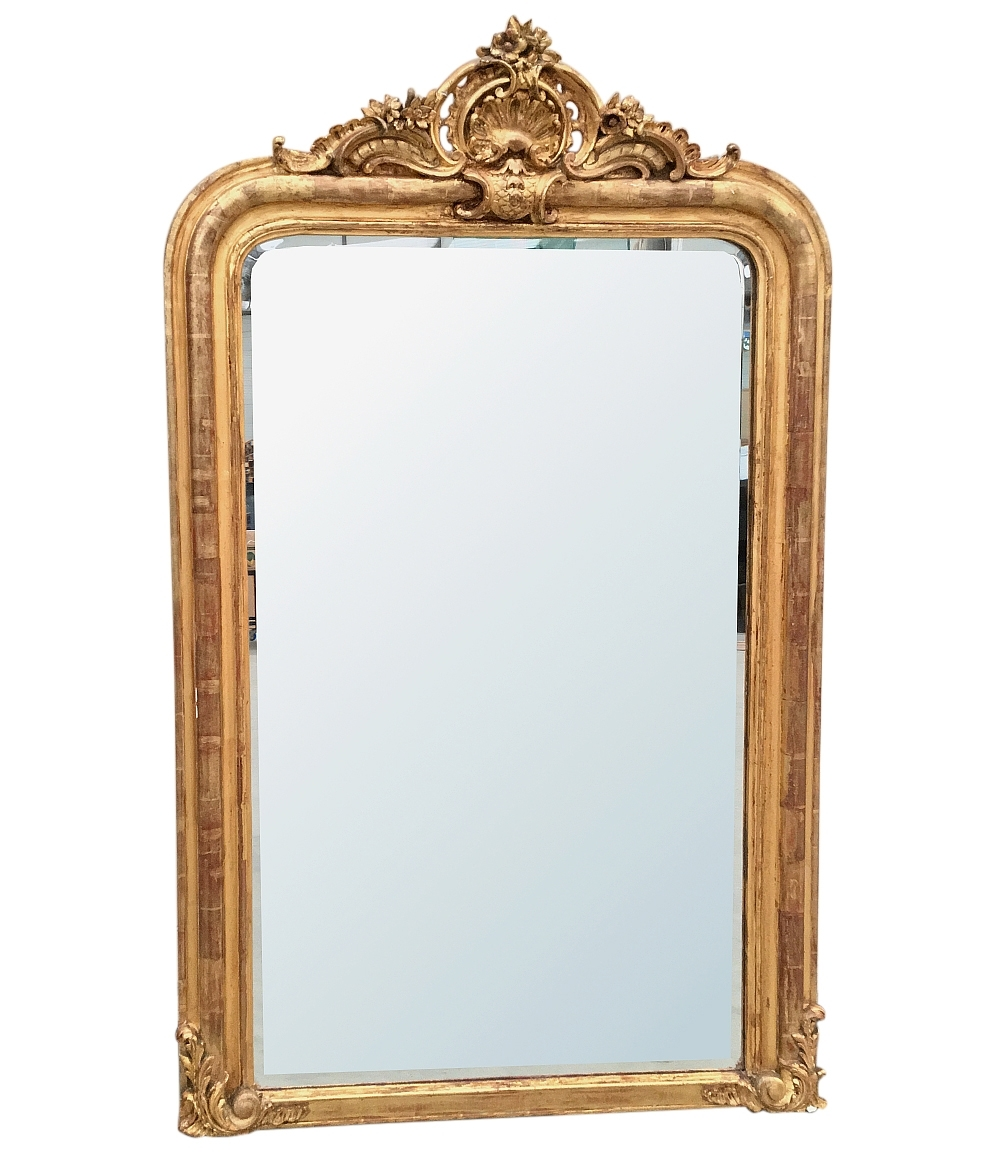 Antique Gilded Mirrors Antique Mirrors Dcor Inessa Regarding Antique Gilded Mirror (Image 7 of 15)