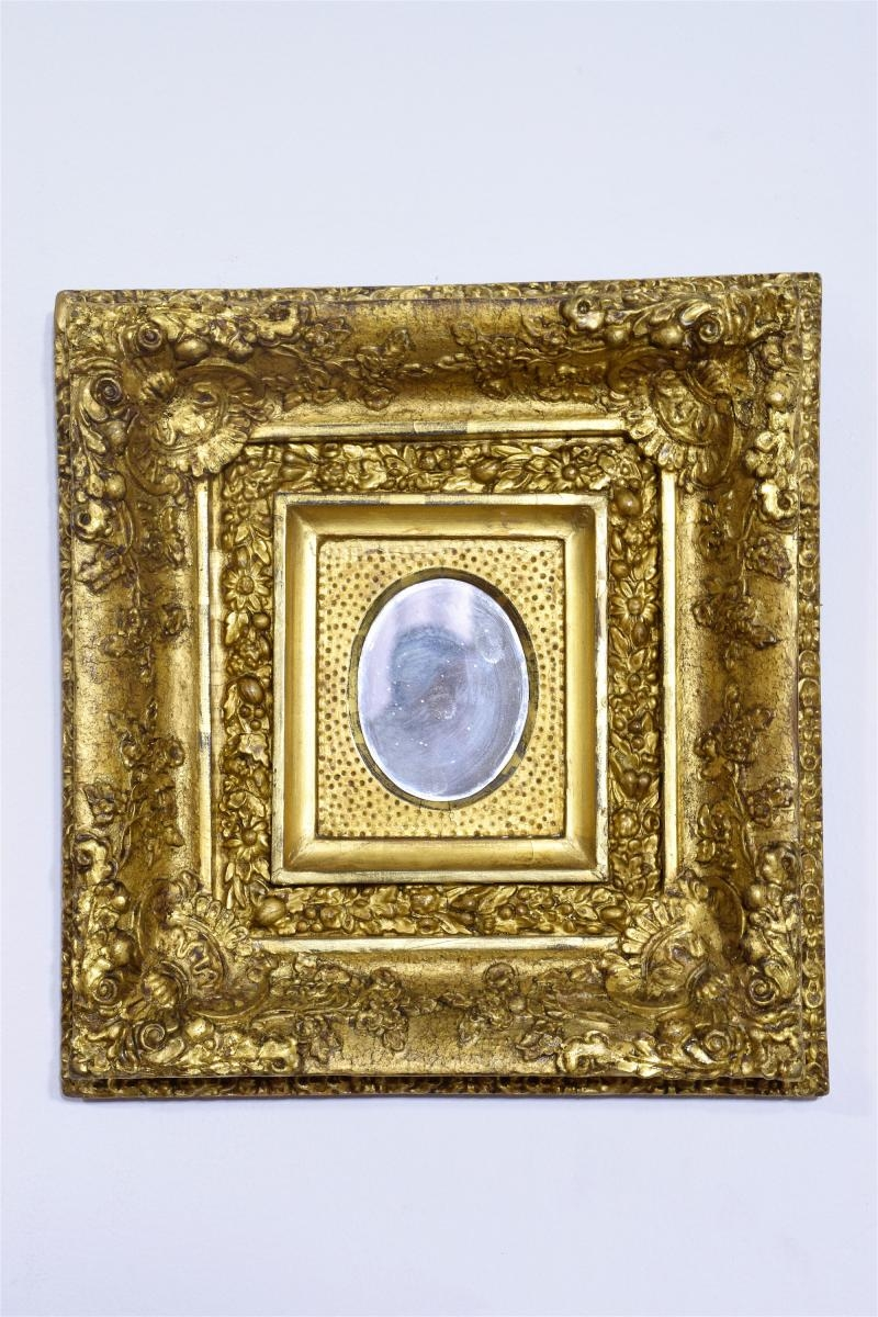 Antique Gilded Mirrors Set Of 3 For Sale At Pamono In Antique Gilded Mirror (Image 9 of 15)