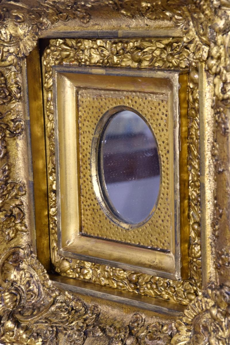 Antique Gilded Mirrors Set Of 3 For Sale At Pamono In Antique Gilded Mirror (Image 8 of 15)