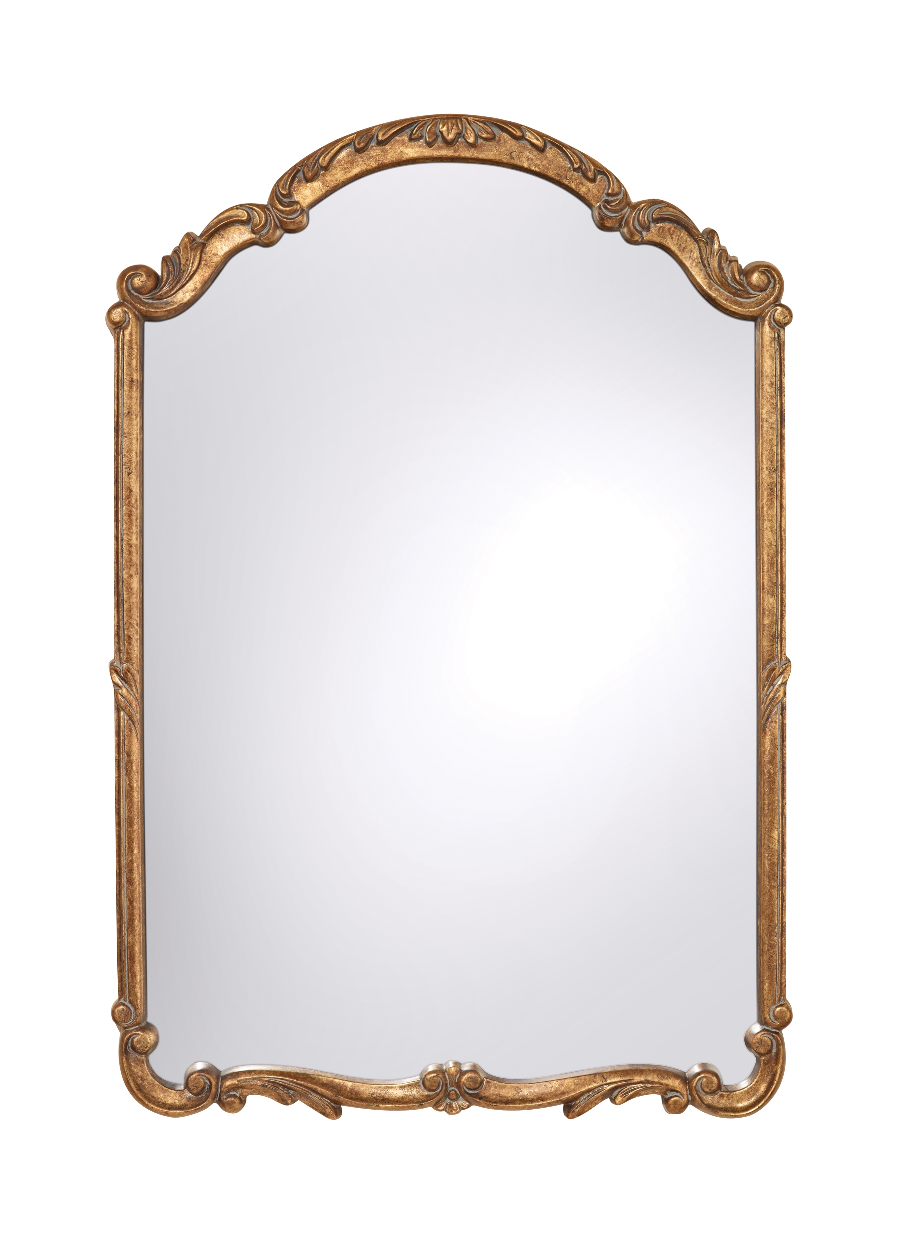 Antique Gold Rectangular Mirror Best Antique 2017 Within Antique Gold Mirrors (Image 1 of 15)