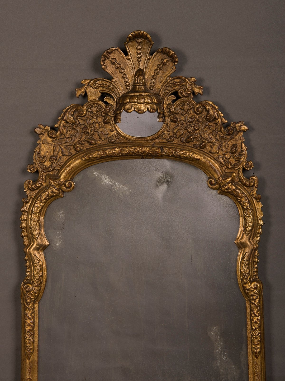 Antique Italian Neoclassical Gilded Mirror Circa 1790 For Sale At Within Antique Gilded Mirror (Image 11 of 15)