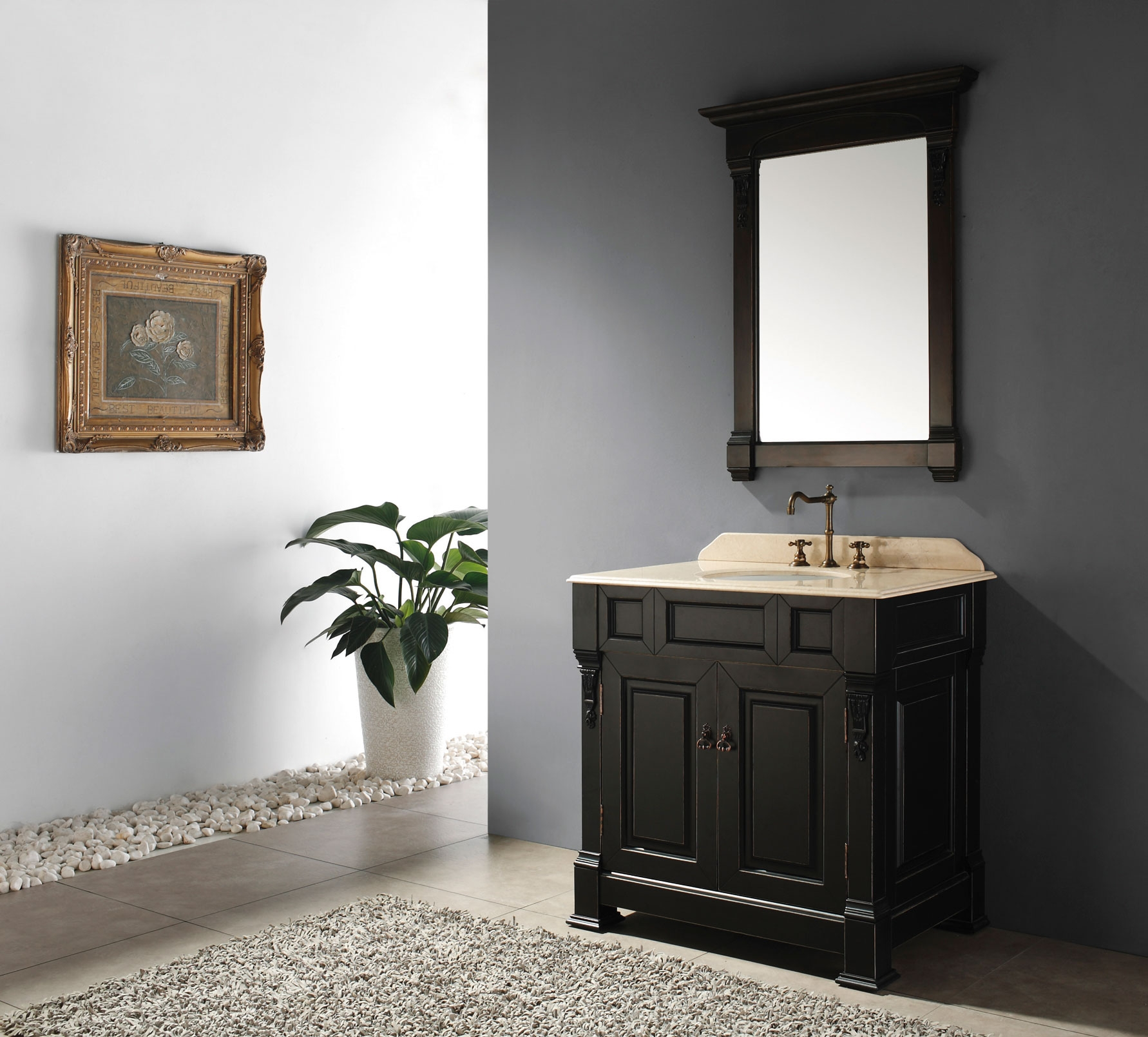Antique Looking Bathroom Mirrors Home Pertaining To Retro Bathroom Mirrors (Image 3 of 15)