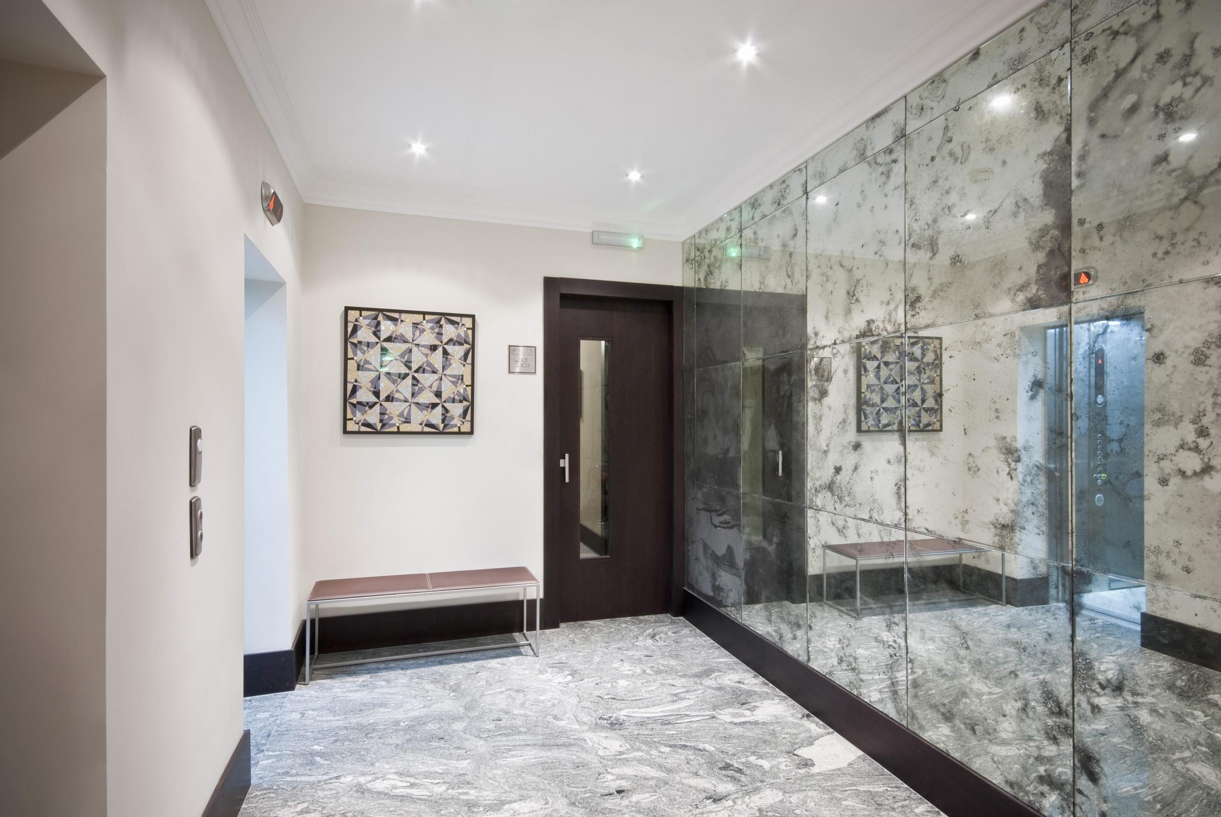 Antique Mirror Feature Walls Saligo Design Wall Features In With Regard To Feature Wall Mirrors (View 5 of 15)