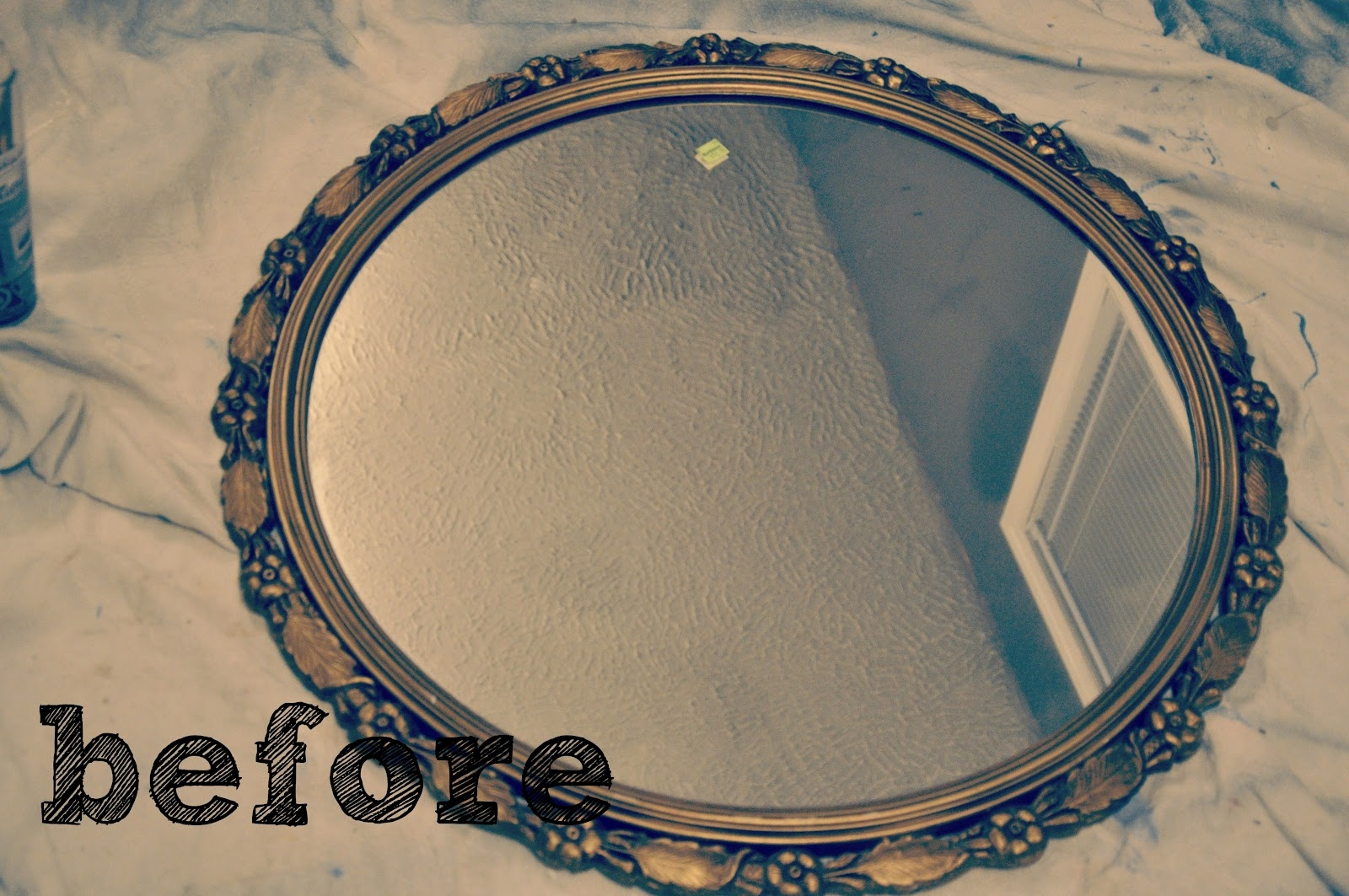Antique Mirror Update This Little Estate Inside Small Antique Mirror (Image 5 of 15)