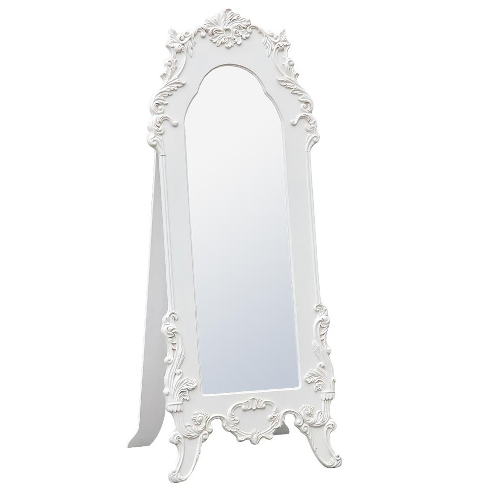 Antique Mirrors Online Shop North East With Vintage Standing Mirror (Image 3 of 15)