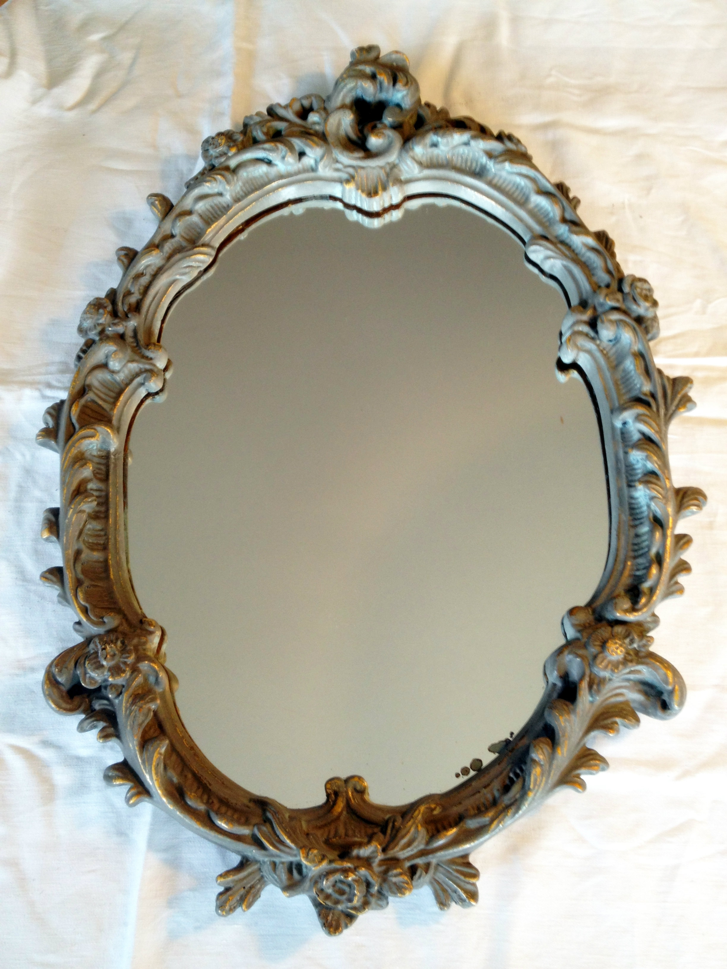 Antique Mirrors Treasurepalace Designs Ornate Vintage Mirror In Vintage Mirrors (Image 2 of 15)