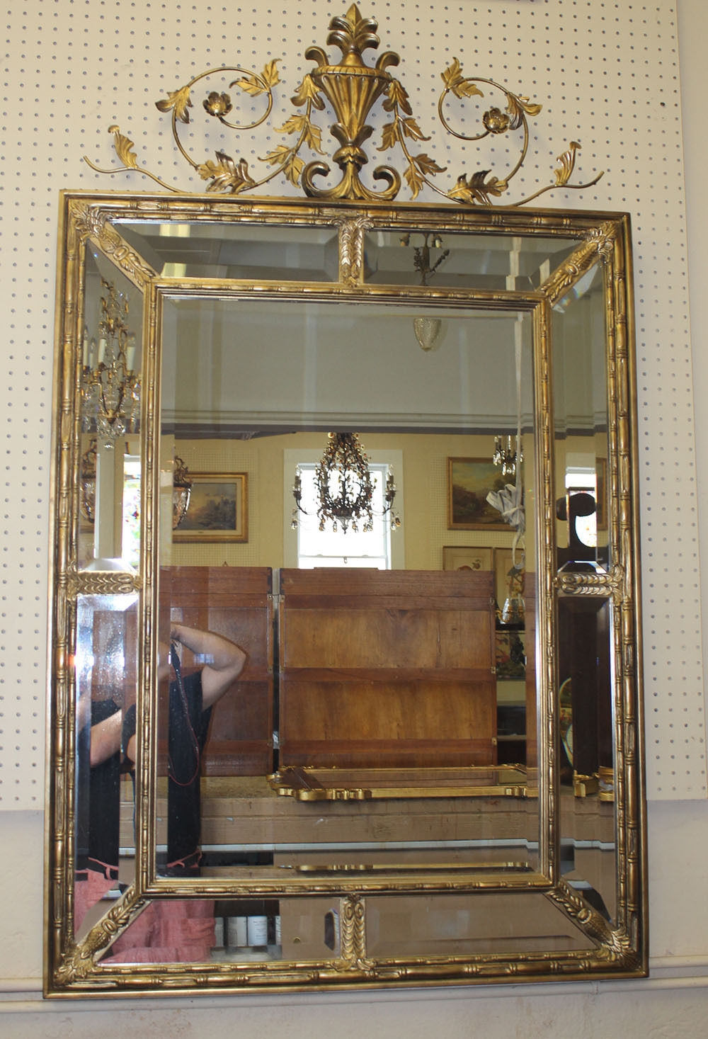 Antique Mirrors With Regard To Huge Antique Mirror (Image 7 of 15)