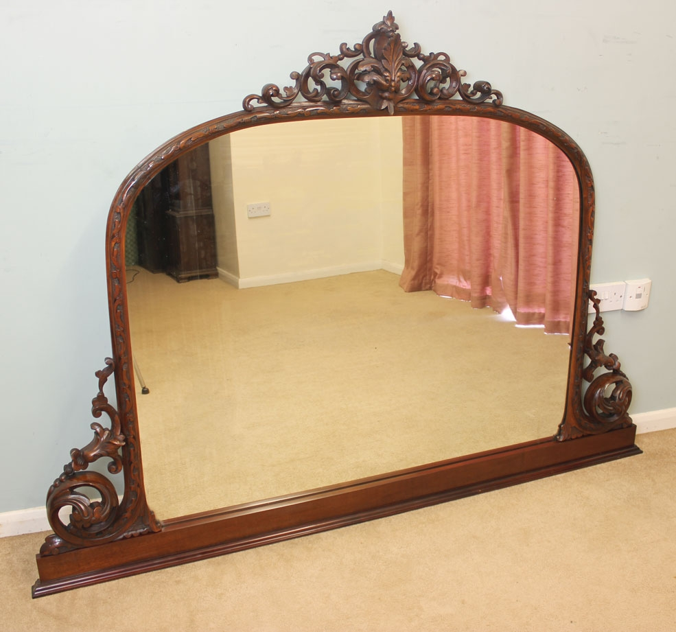 Antique Overmantle Mirrors Uk Best Antique 2017 In Wooden Overmantle Mirror (View 11 of 15)