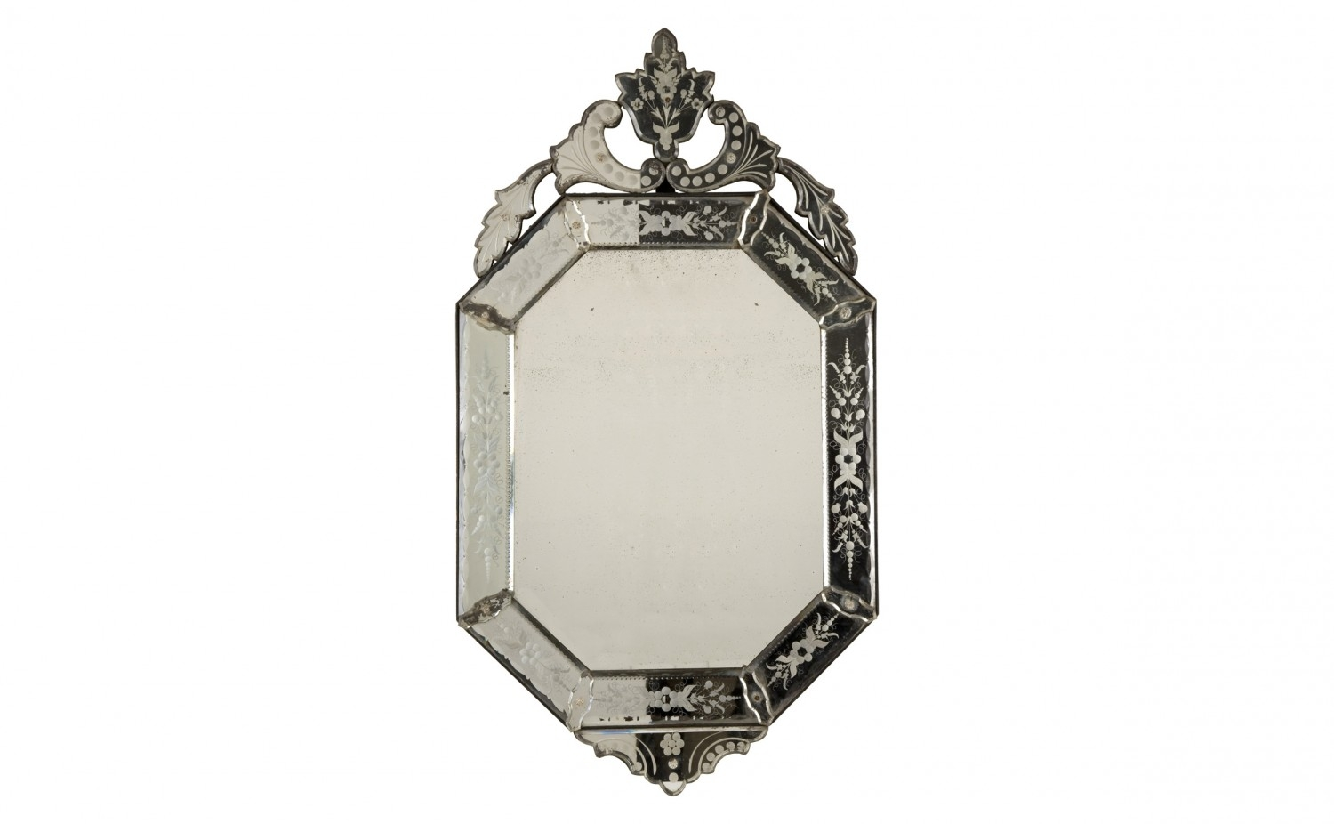 Antique Venetian Mirror Jayson Home With Antique Venetian Mirrors (Image 5 of 15)