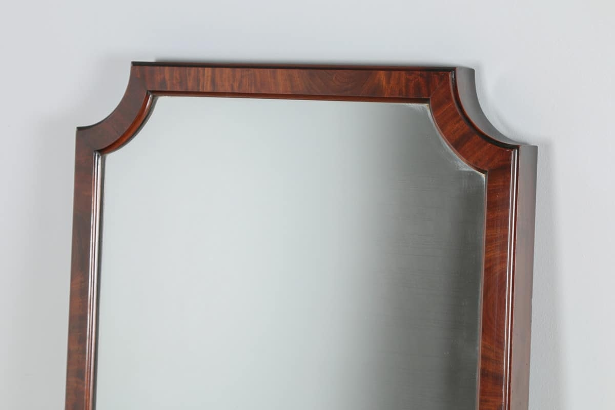 Antique Victorian Mahogany Wall Floor Standing Cheval Intended For Victorian Standing Mirror (Image 3 of 15)