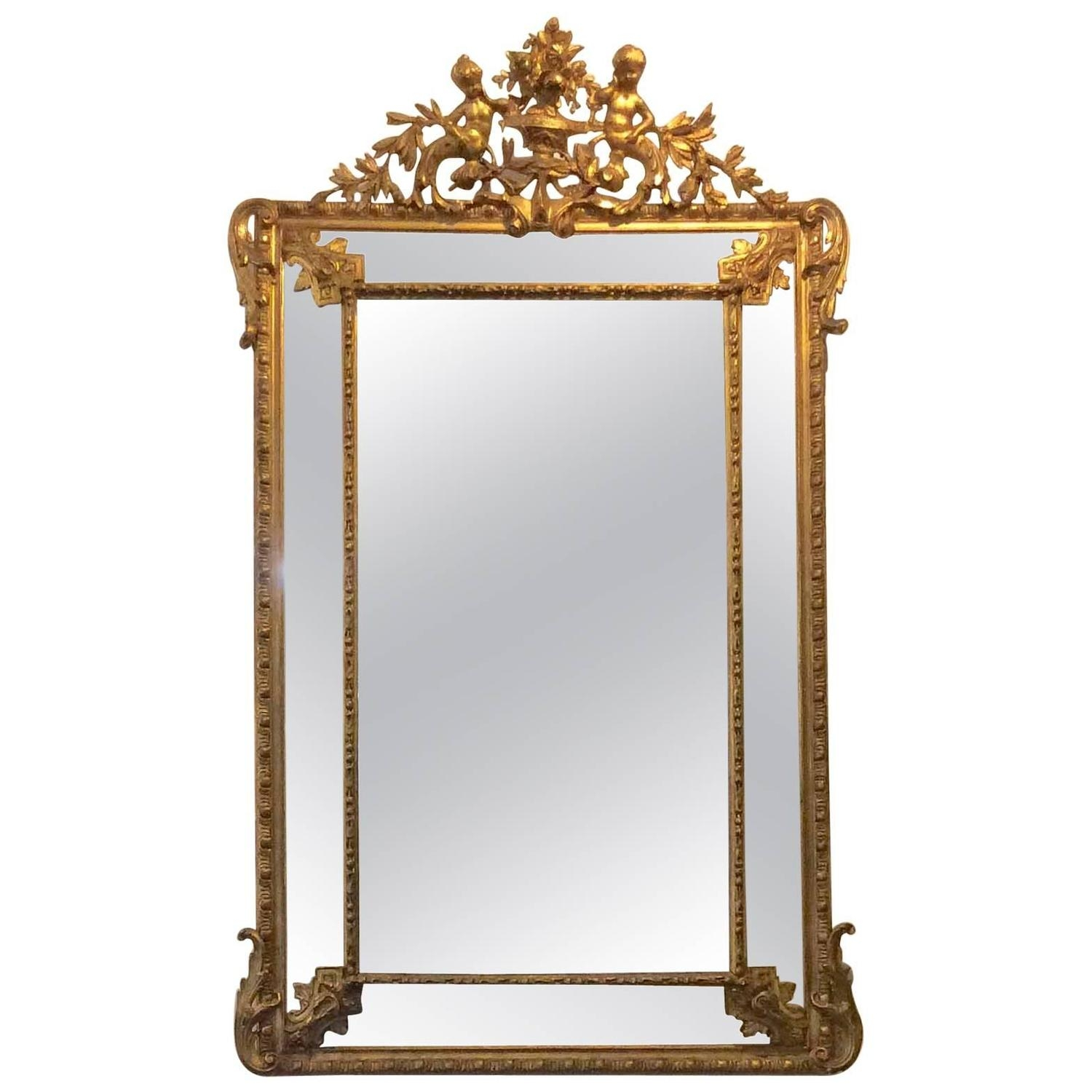 Featured Image of Gold Gilt Mirrors