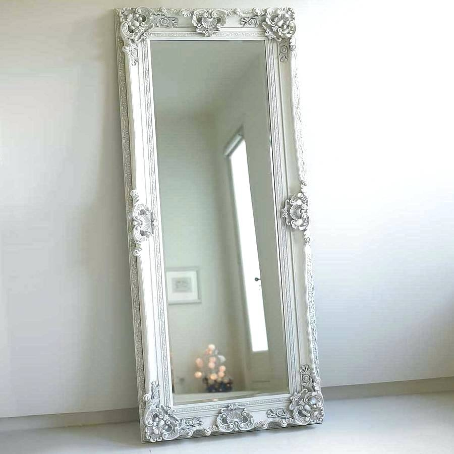 Antique Wall Mirror Victorian Ornate Gilt Wood Looking Glass Intended For Old Looking Mirrors (Image 8 of 15)