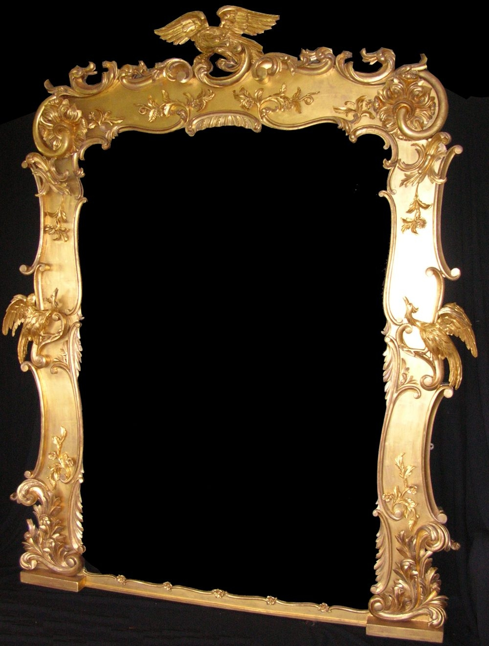 Antiques Atlas Antique Large Regency Gilt Mirror Regarding Gilt Mirrors For Sale (Image 5 of 15)