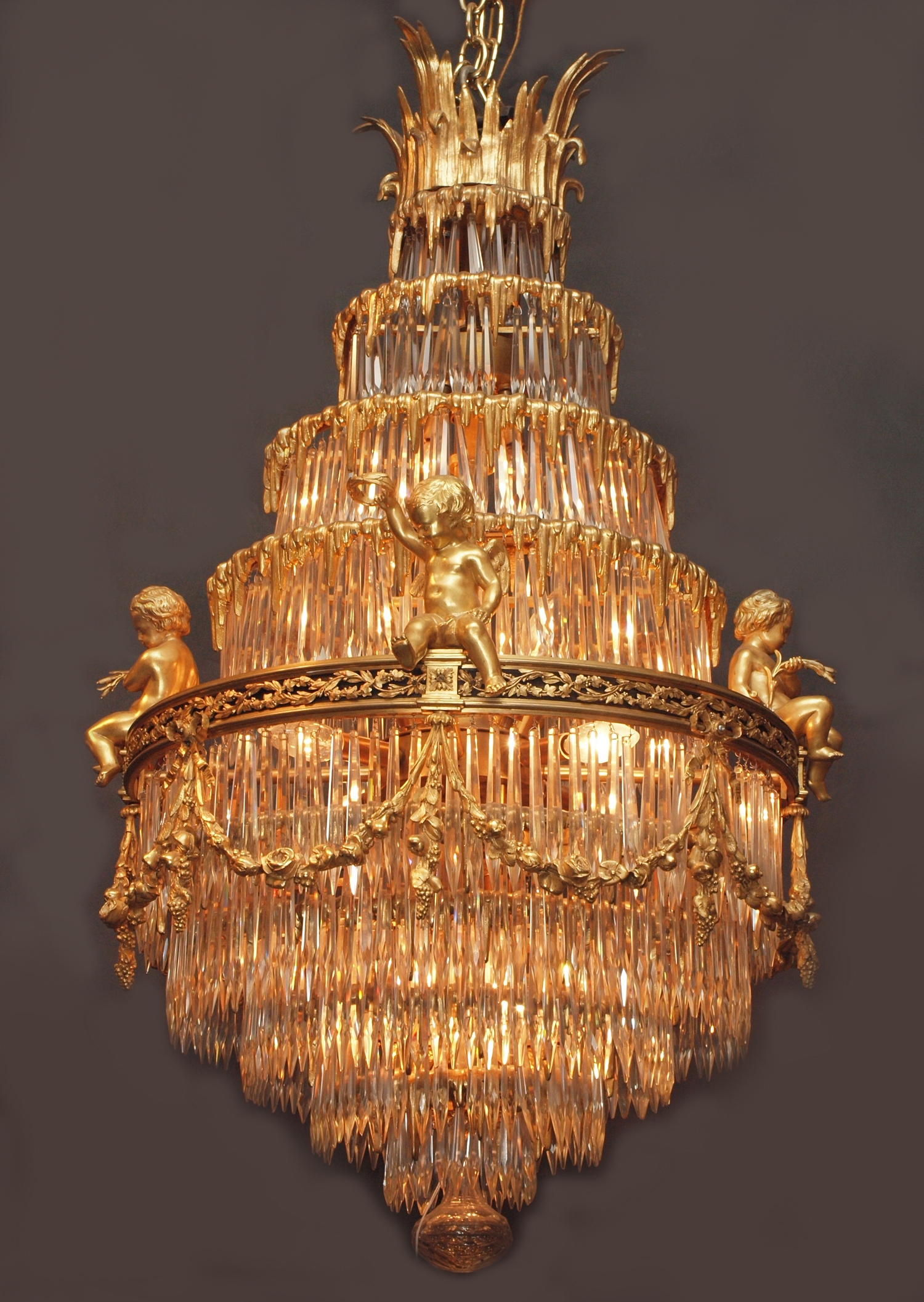 Antiques Classifieds Antiques Antique Lamps And Lighting Pertaining To Antique Chandeliers (Image 6 of 15)