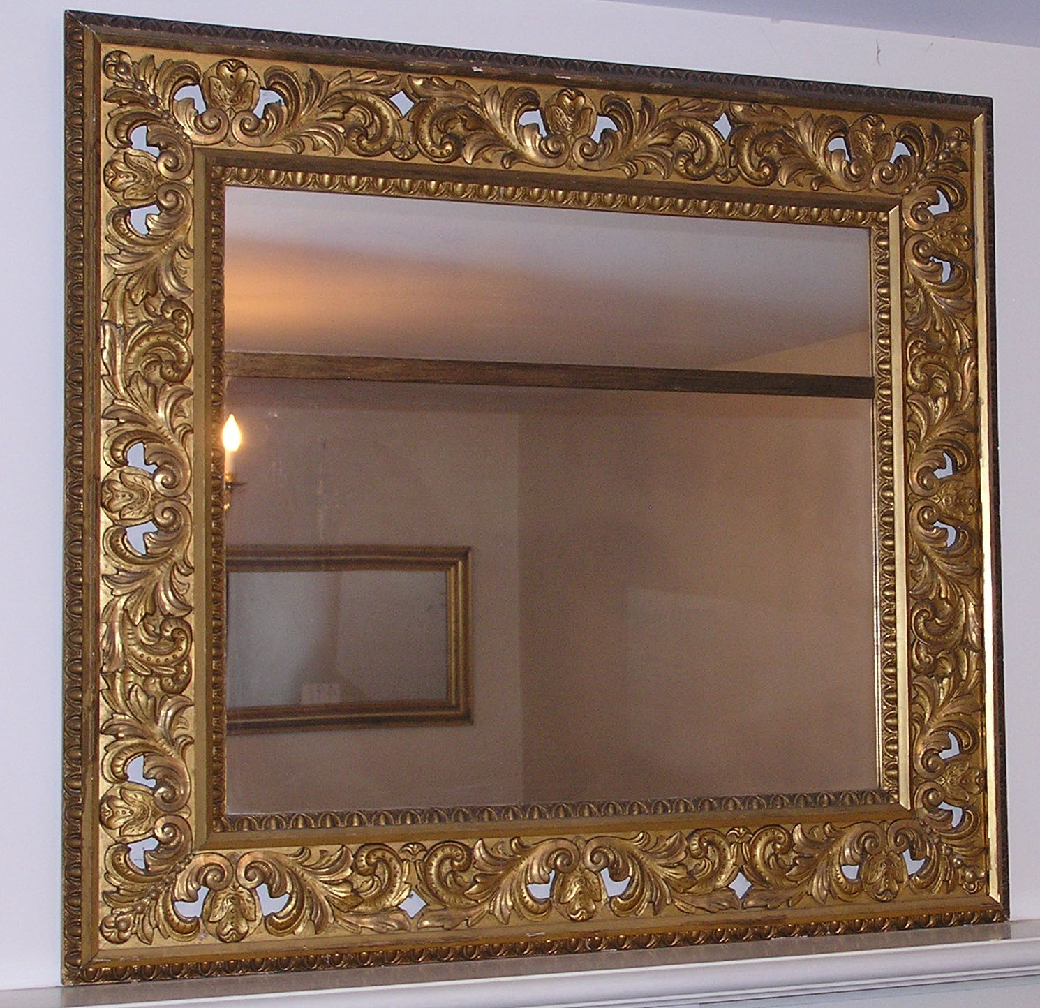 Antiques Classifieds Antiques Decorative Interior For Brass Mirrors For Sale (Image 1 of 15)