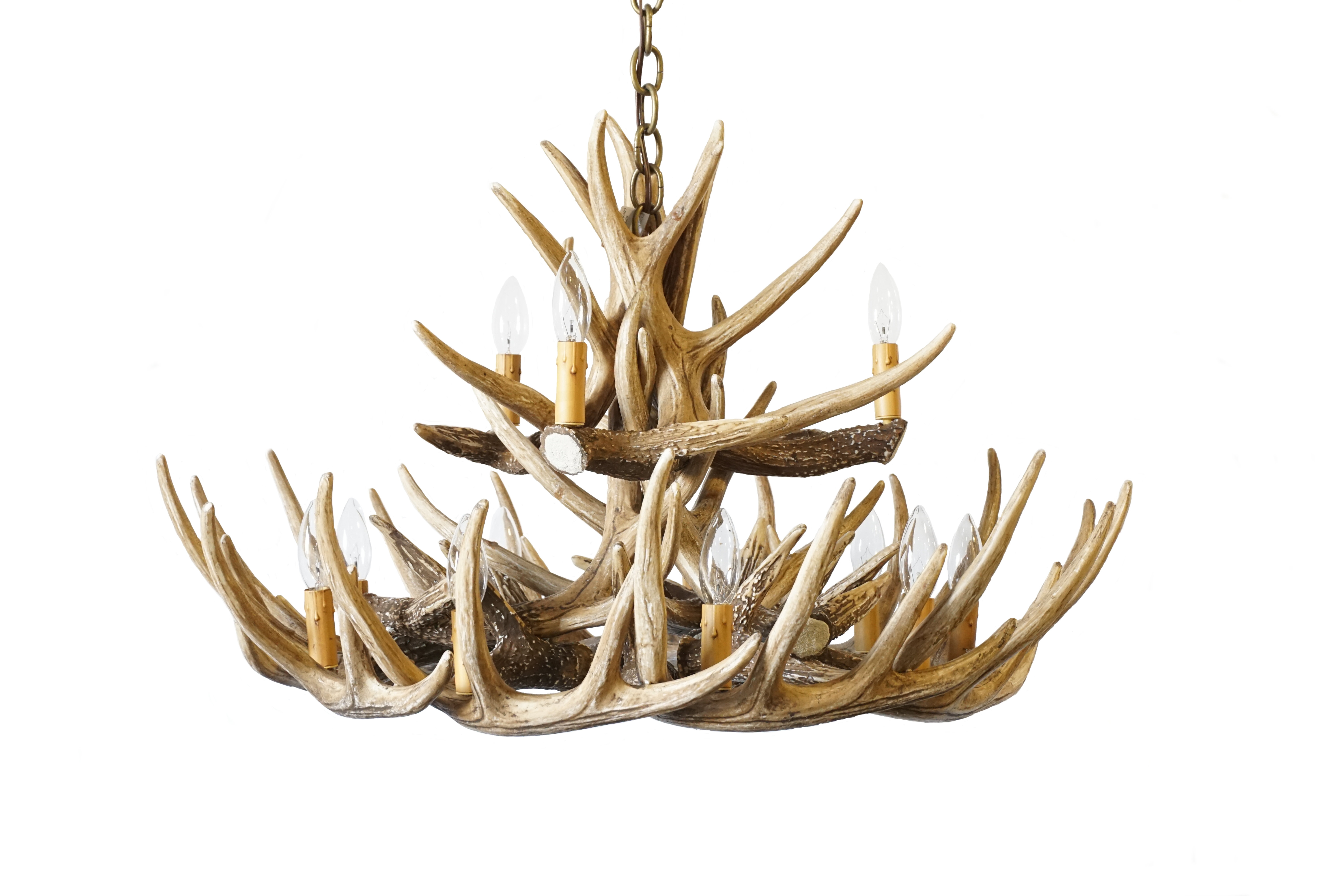 Antler Chandeliers Cast Horn Designs In Antler Chandelier (View 6 of 15)