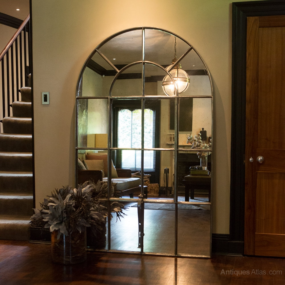 15 Collection Of Window Arch Mirror Mirror Ideas